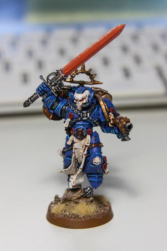 Conversion, Librarian, Space Marines, Ultramarines