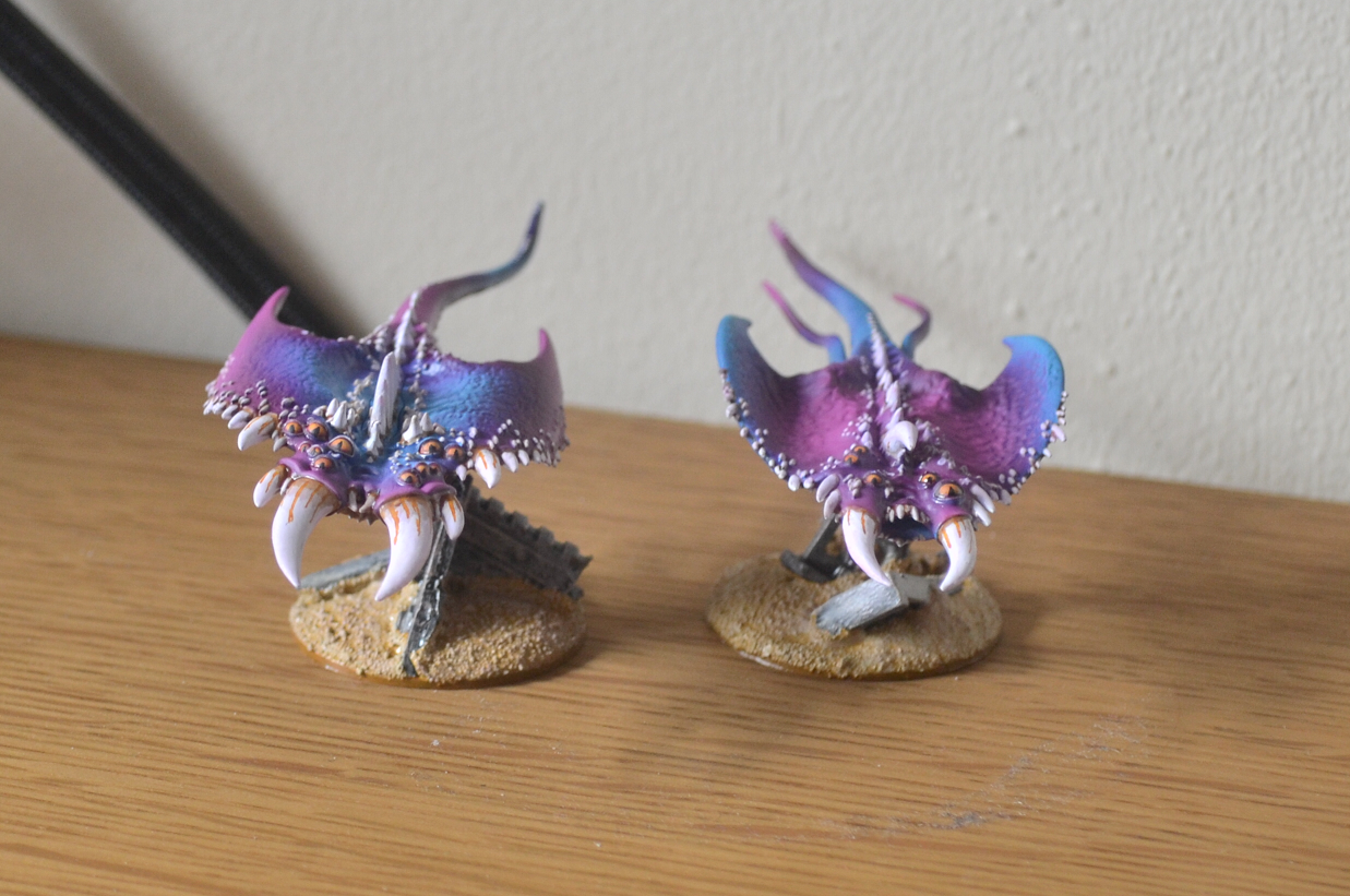 Daemons, Herald, Screamers, Tzeentch, Warhammer 40,000
