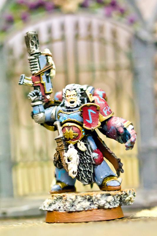 Captain, Space Marines, Space Wolves, Wolf Lord