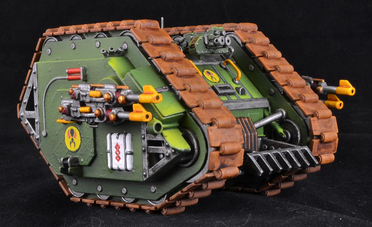 Land Raider, Mk-1, Space Marines, Warhammer 40,000, Work In Progress