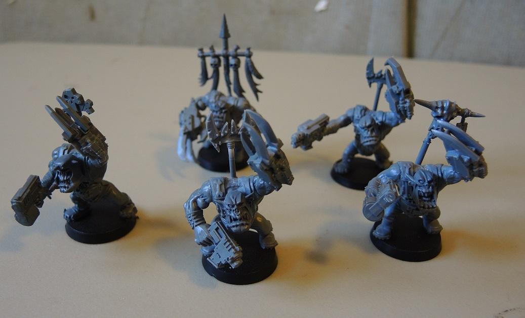 Bad Moons, Deathskulls, Deff, Deff Dread, Dreadnought, Dred, Orks, Scratch Build
