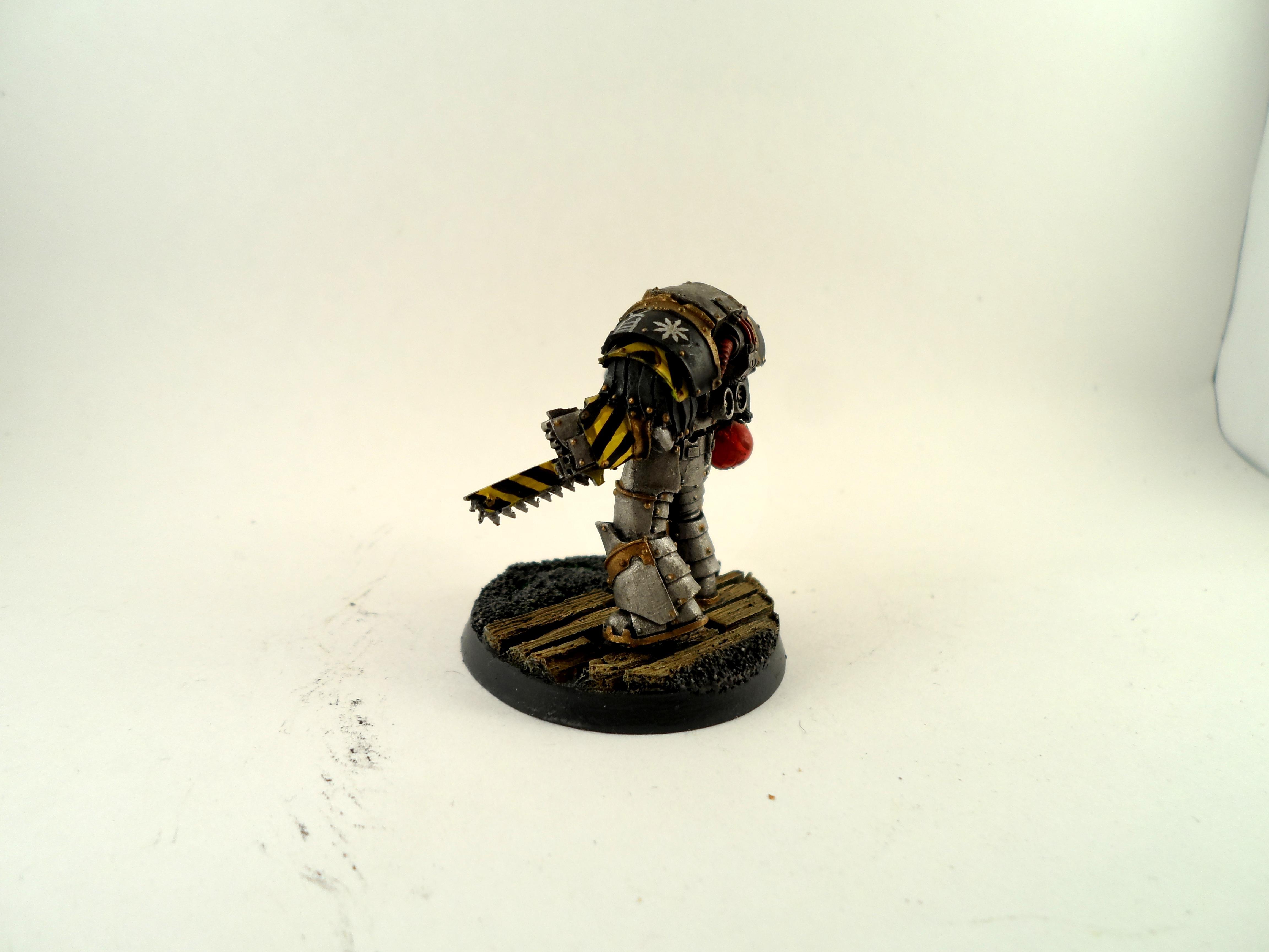 Cataphractii, Chaos, Chaos Space Marines, Iron Warriors, Siege, Terminator Armor