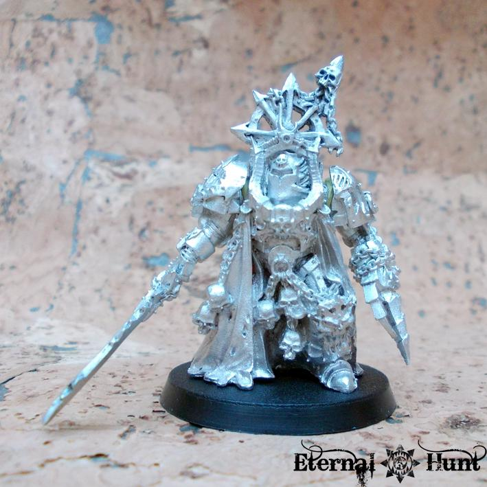 Chaos, Chaos Space Marine Lord, Chaos Space Marines, Metal, Terminator Armor, Warhammer 40,000