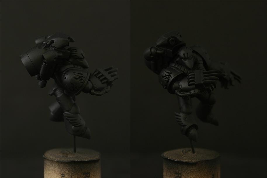 Jca, Kayvaan, Raven Guard, Sculpted, Shrike