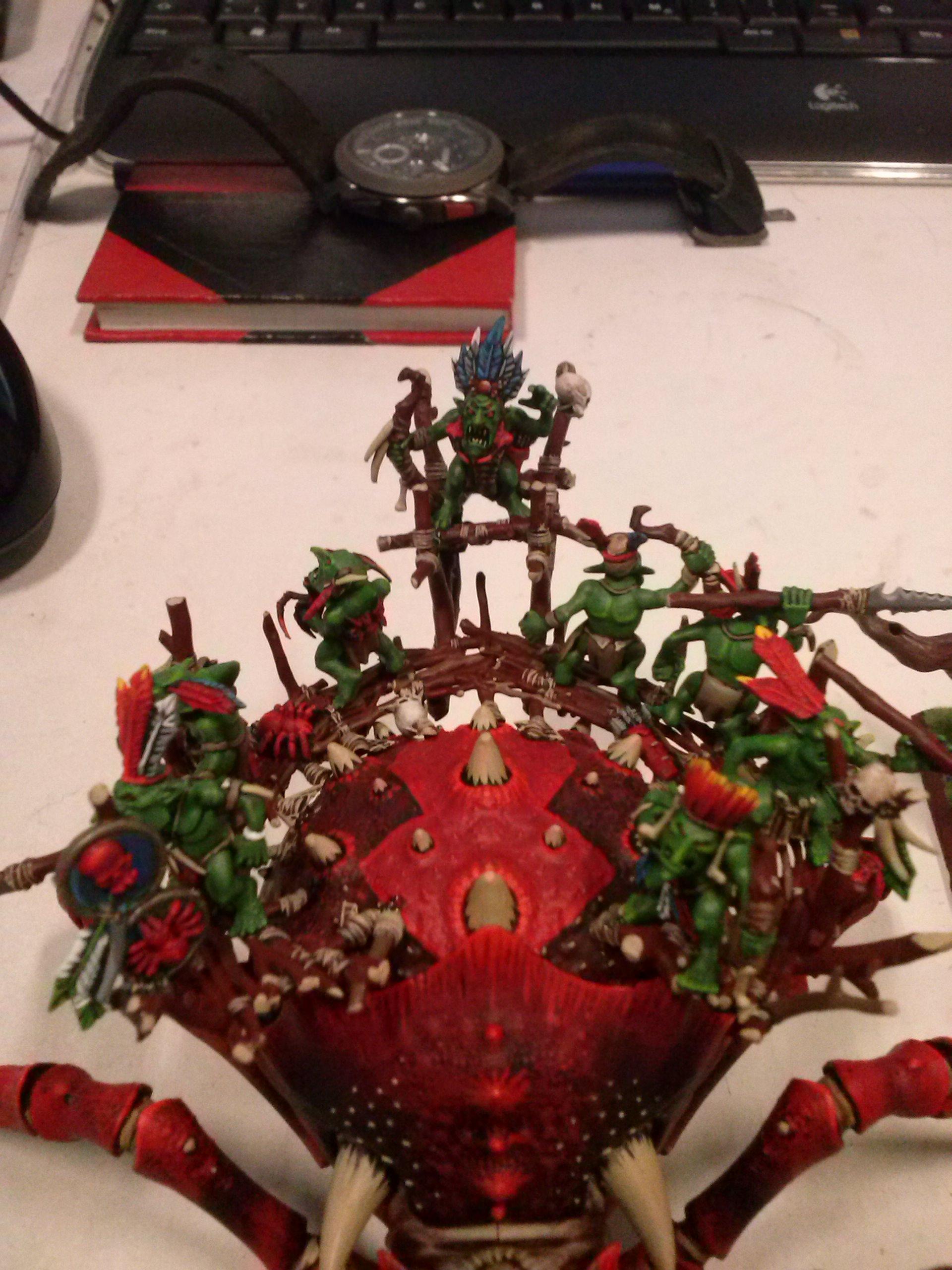 Arachnarok, Goblins, Grimgram, Orks, Savage