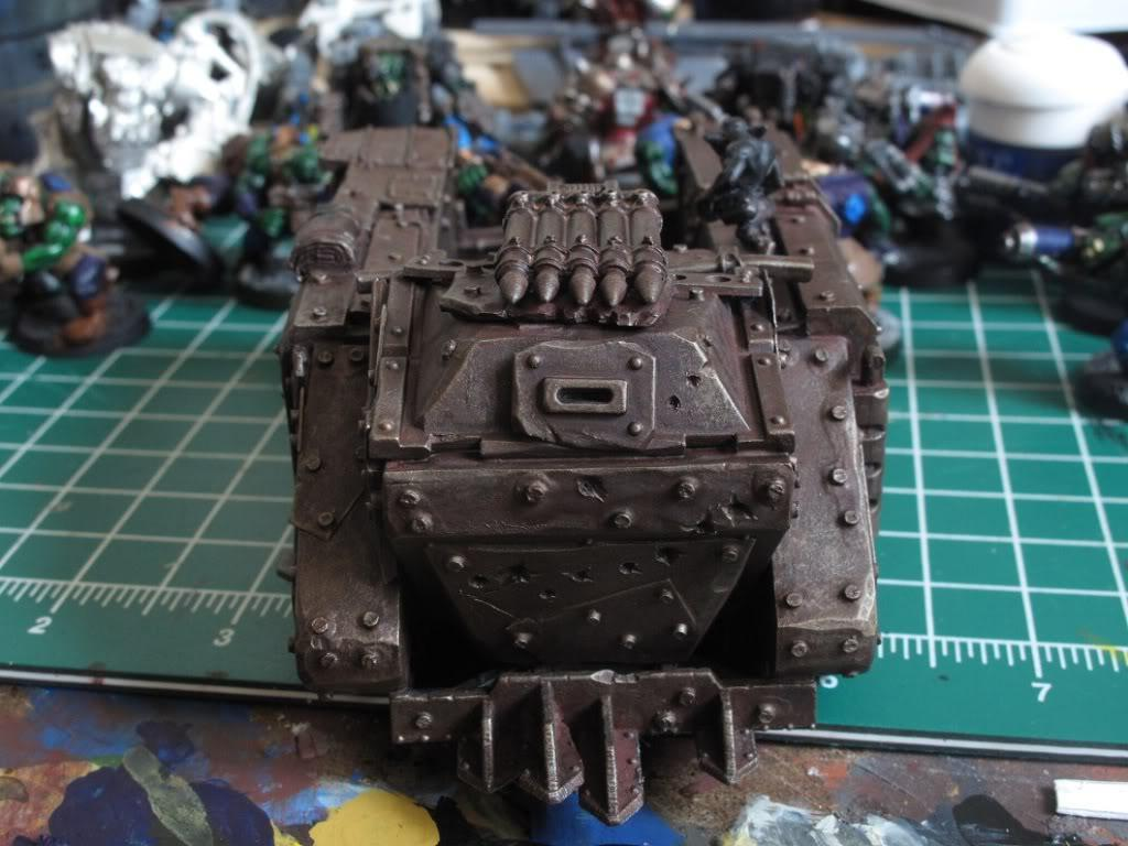 Looted Wagon, Orks, Scratch Build