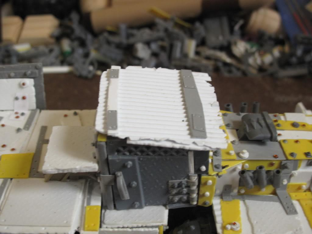 Badmoons, Deathskulls, Orks, Scratch Build