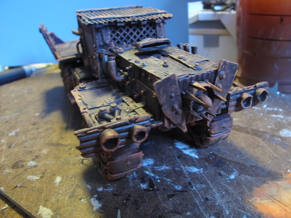 Badmoons, Deathskulls, Orks, Scratch Build