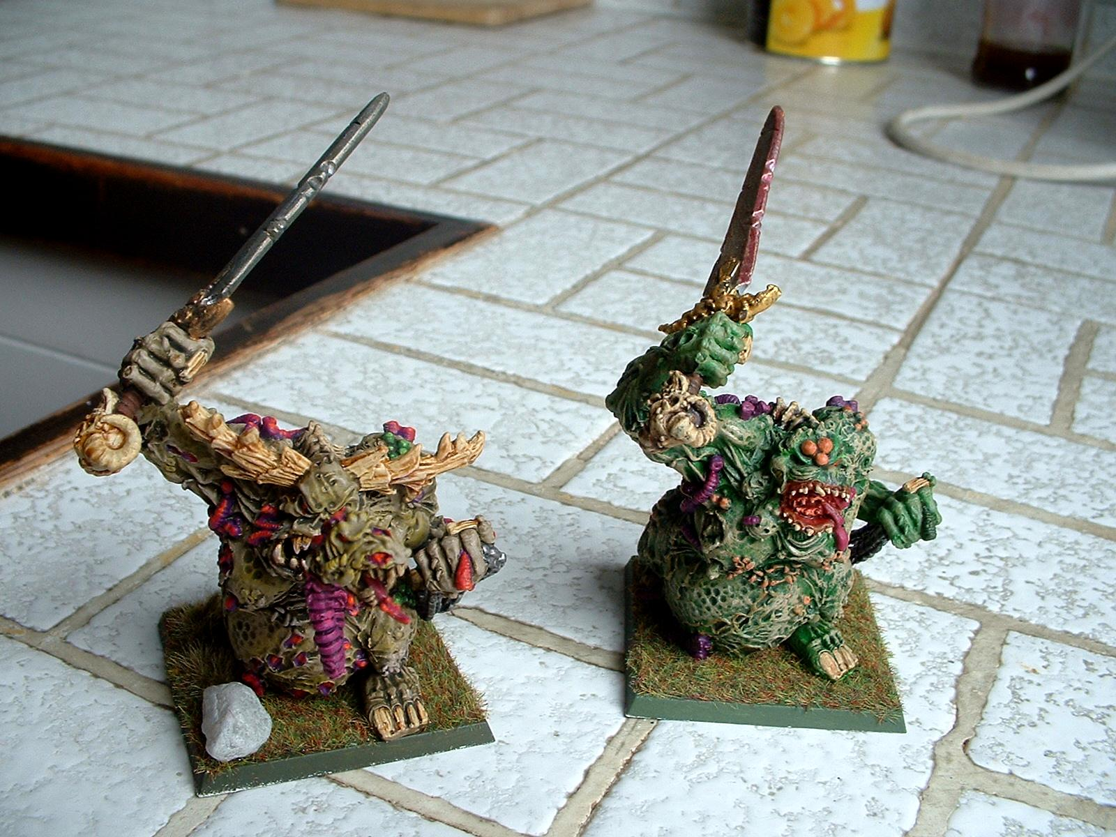 Chaos, Daemons, Great Unclean One, Greater Demon, Guo, Headquarters, Nurgle