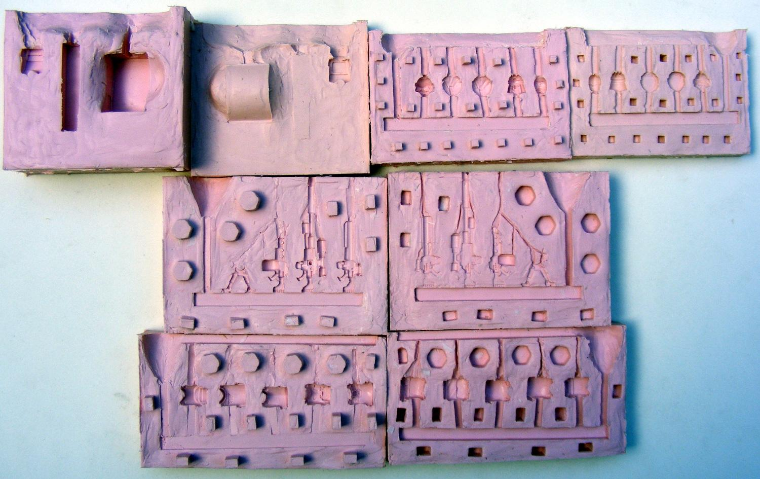 lots of molds