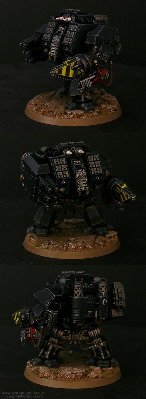 Black, Chainfist, Dreadnought, Hunter-killer, Hurricane, Ironclad, Jca