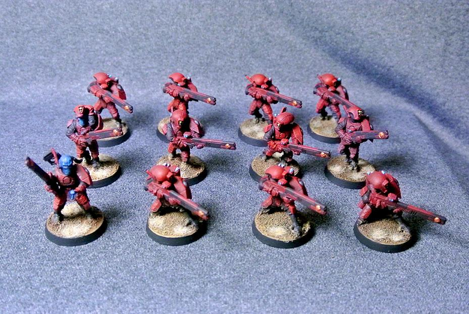 Tau Faright Fire Warriors