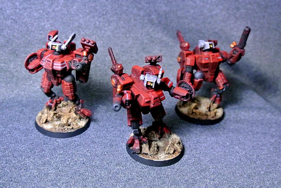 Tau Faright XV8 Team