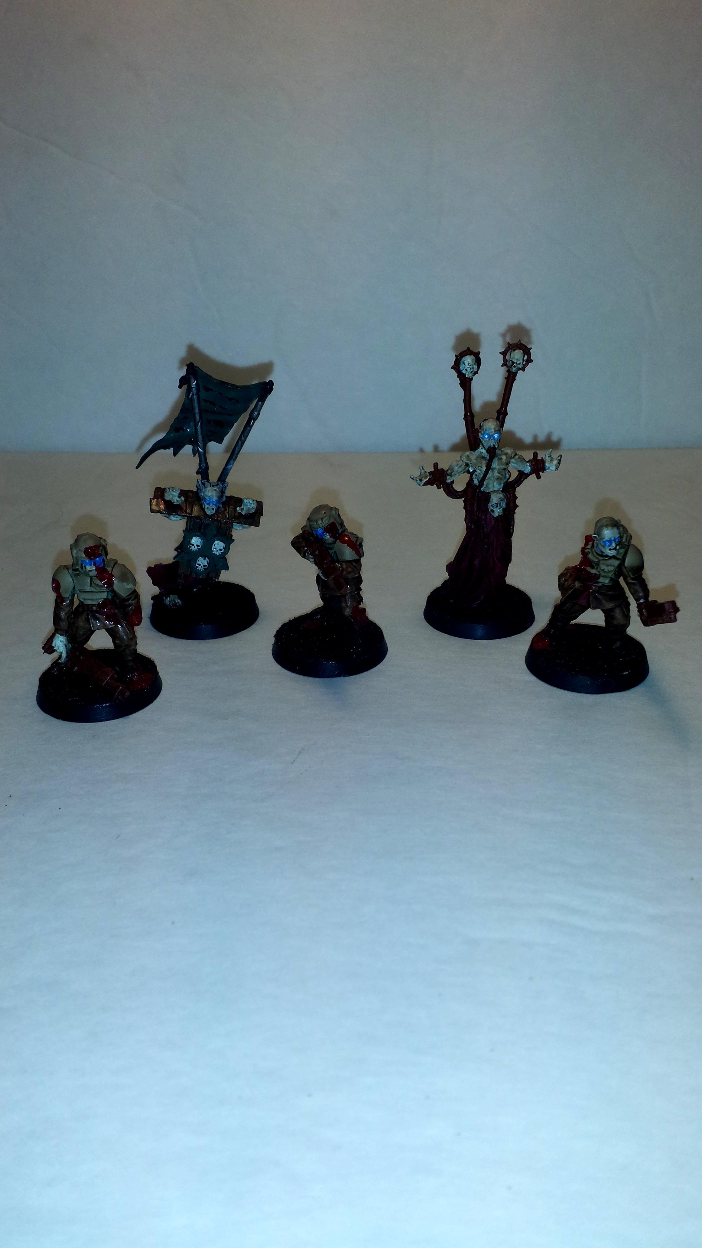 Chaos Space Marines, Cultist, Fallen, Imperial Guard, Trader Legion, Traders, Typhus, Zombie