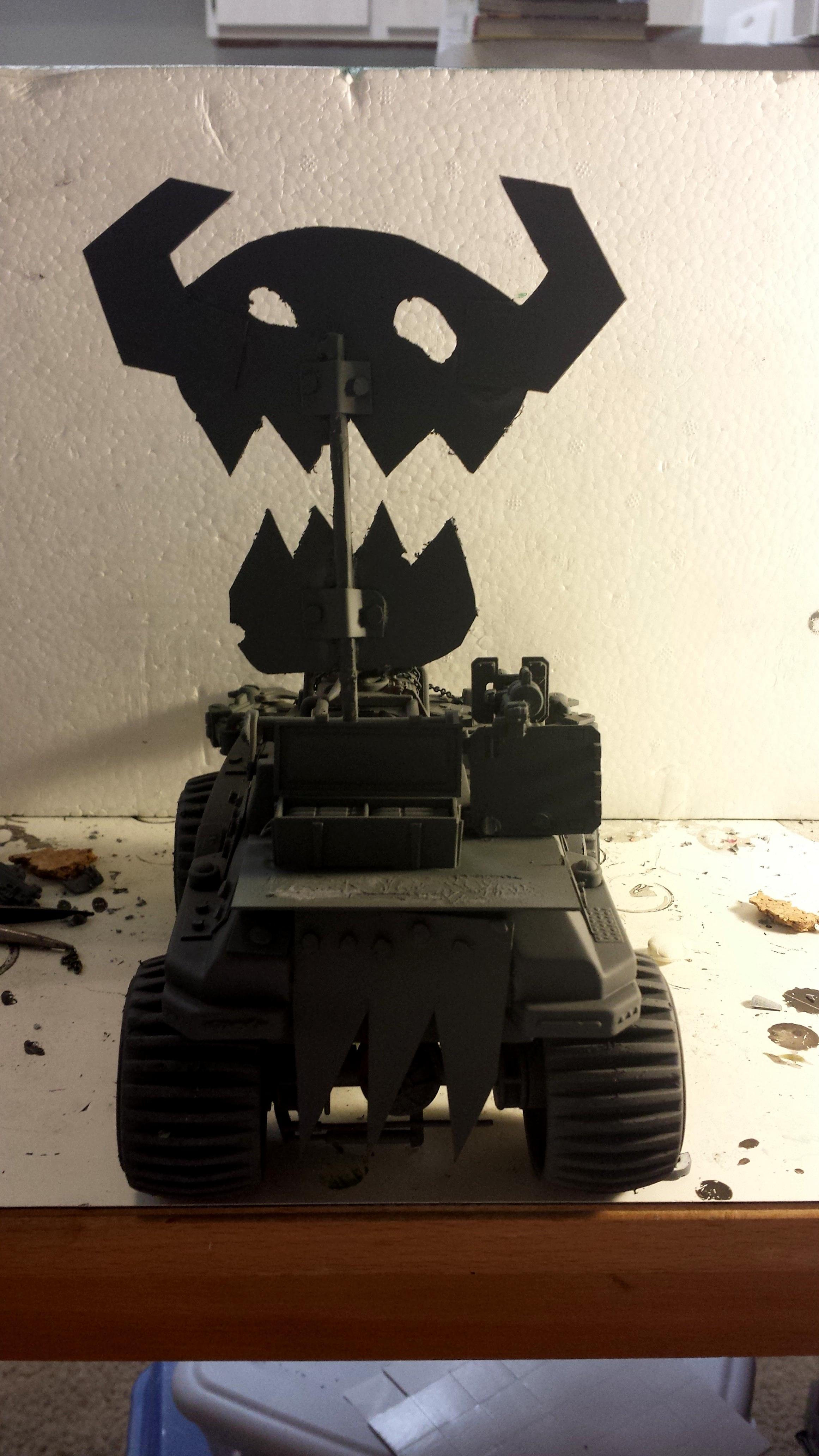 Battlewagon, Conversion, Custom, Gijoe, Kustom, Orks, Orky, Truck, Truckk, Trukk