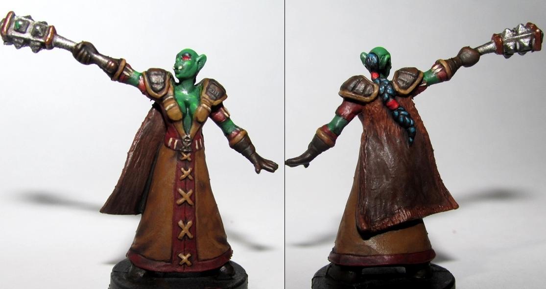 Board Game, Orc Shaman, World Of Warcraft