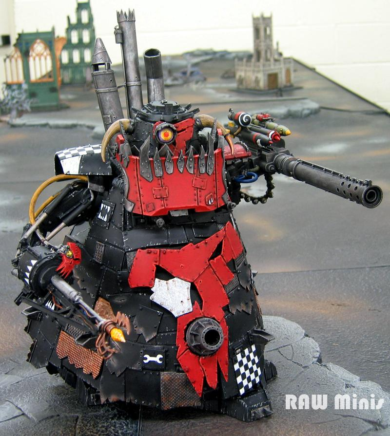 Apocalypse, Conversion, Orks, Painting, Super-heavy, Warhammer 40,000