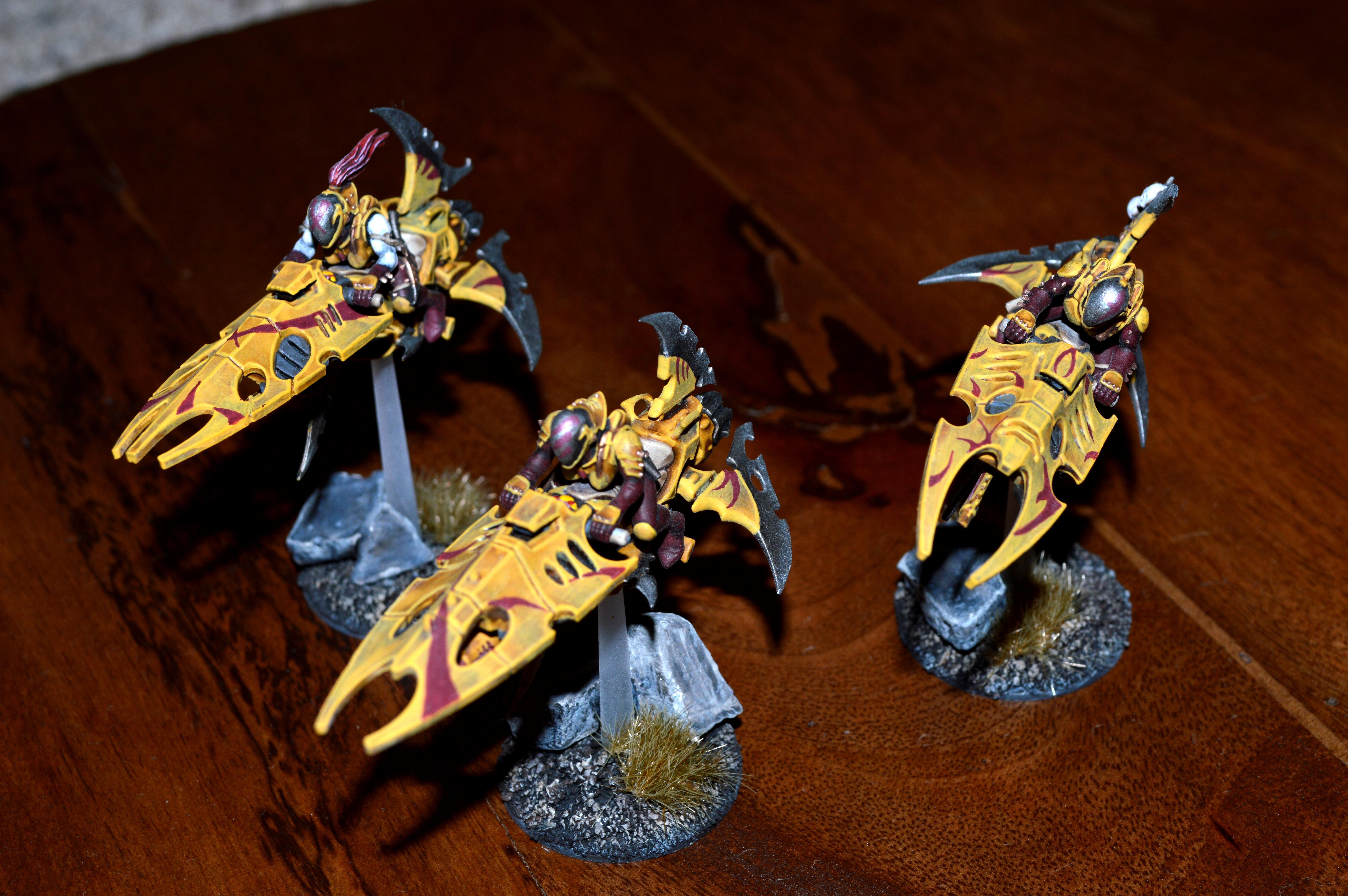 Dark Eldar, Drukhari, Jetbike, Reavers, Warhammer 40,000
