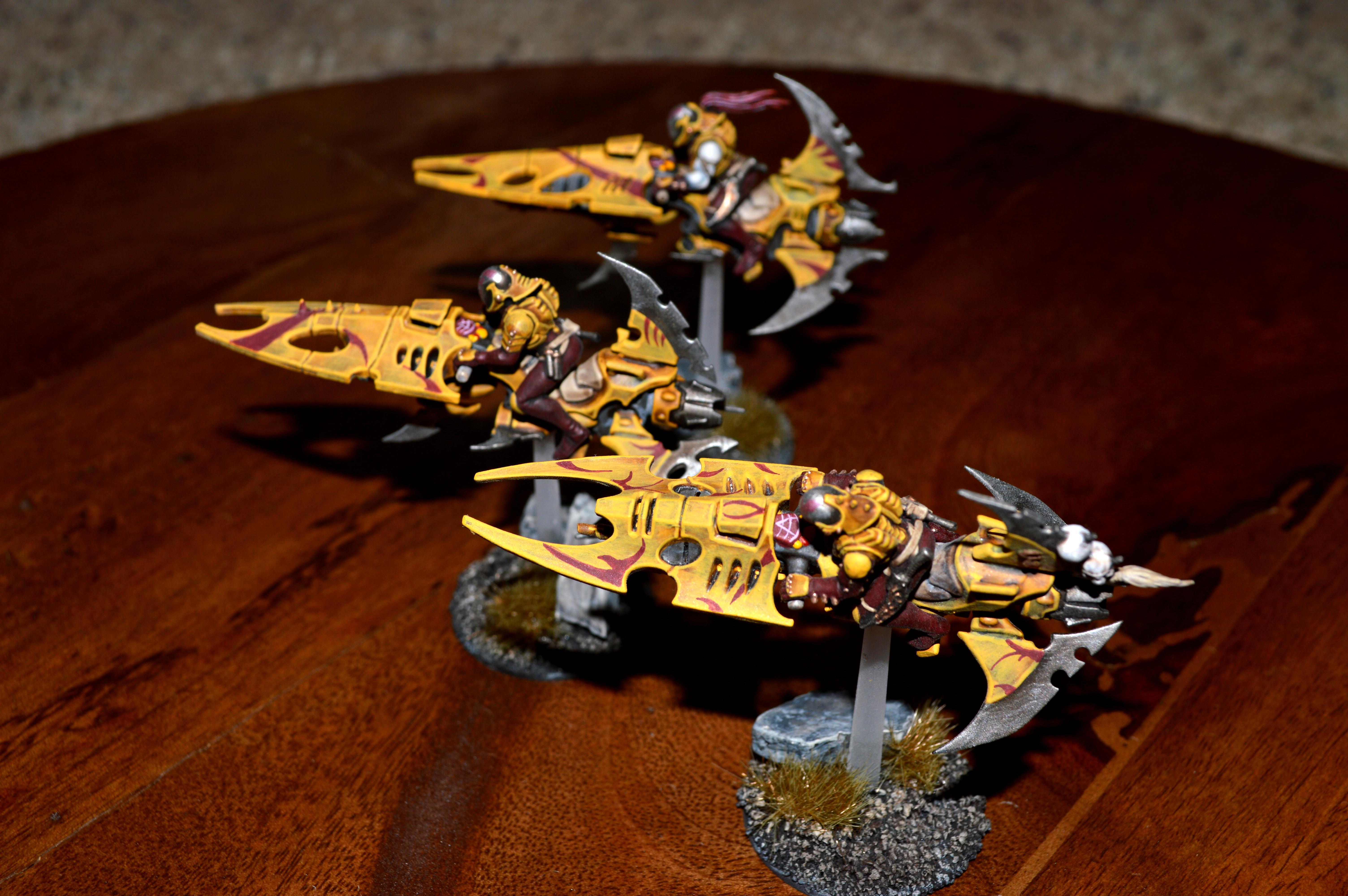 Dark Eldar, Jetbike, Reaver Jetbikes, Reavers