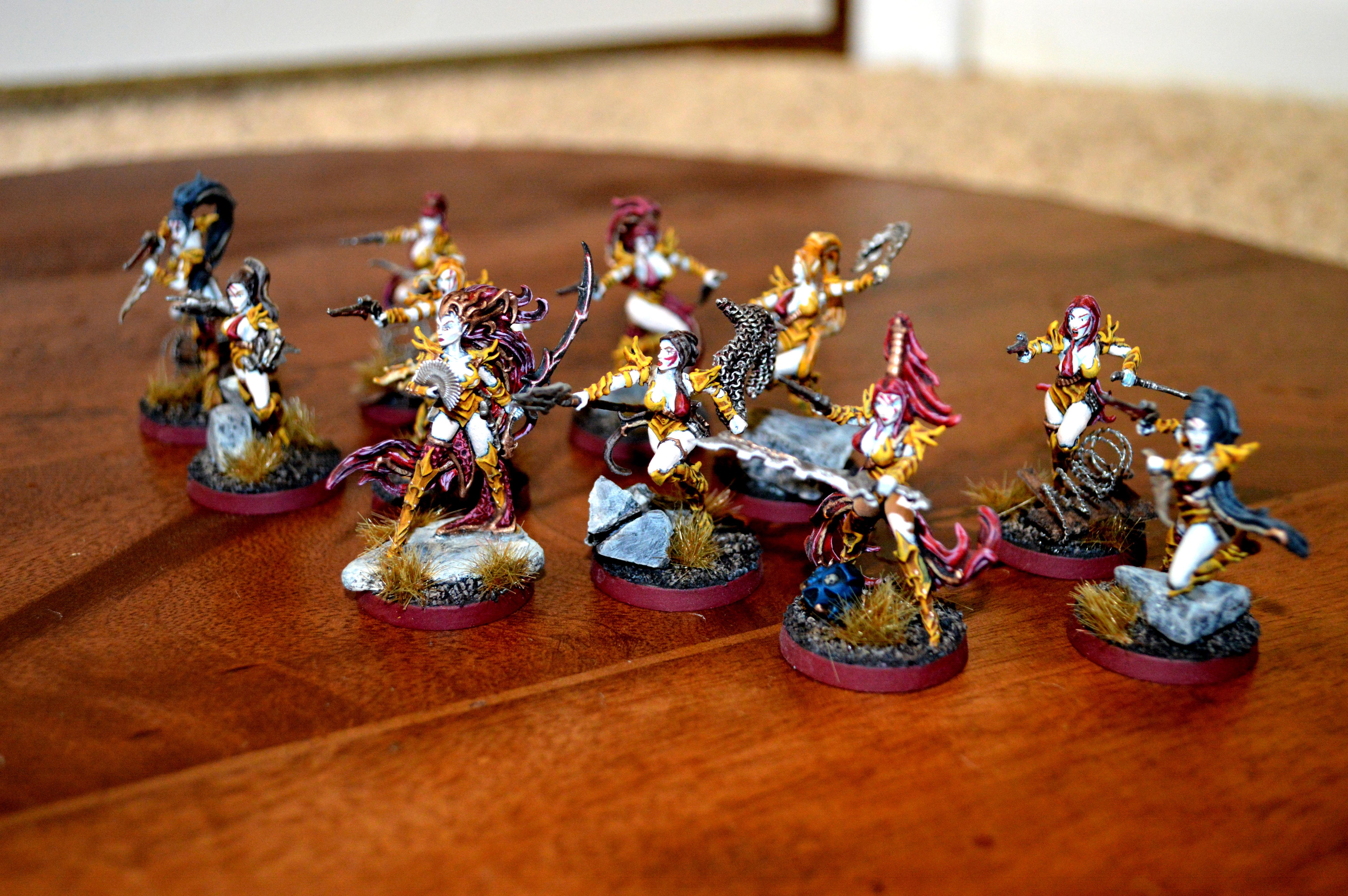 Bloodbrides, Dark Eldar, Raging Heroes