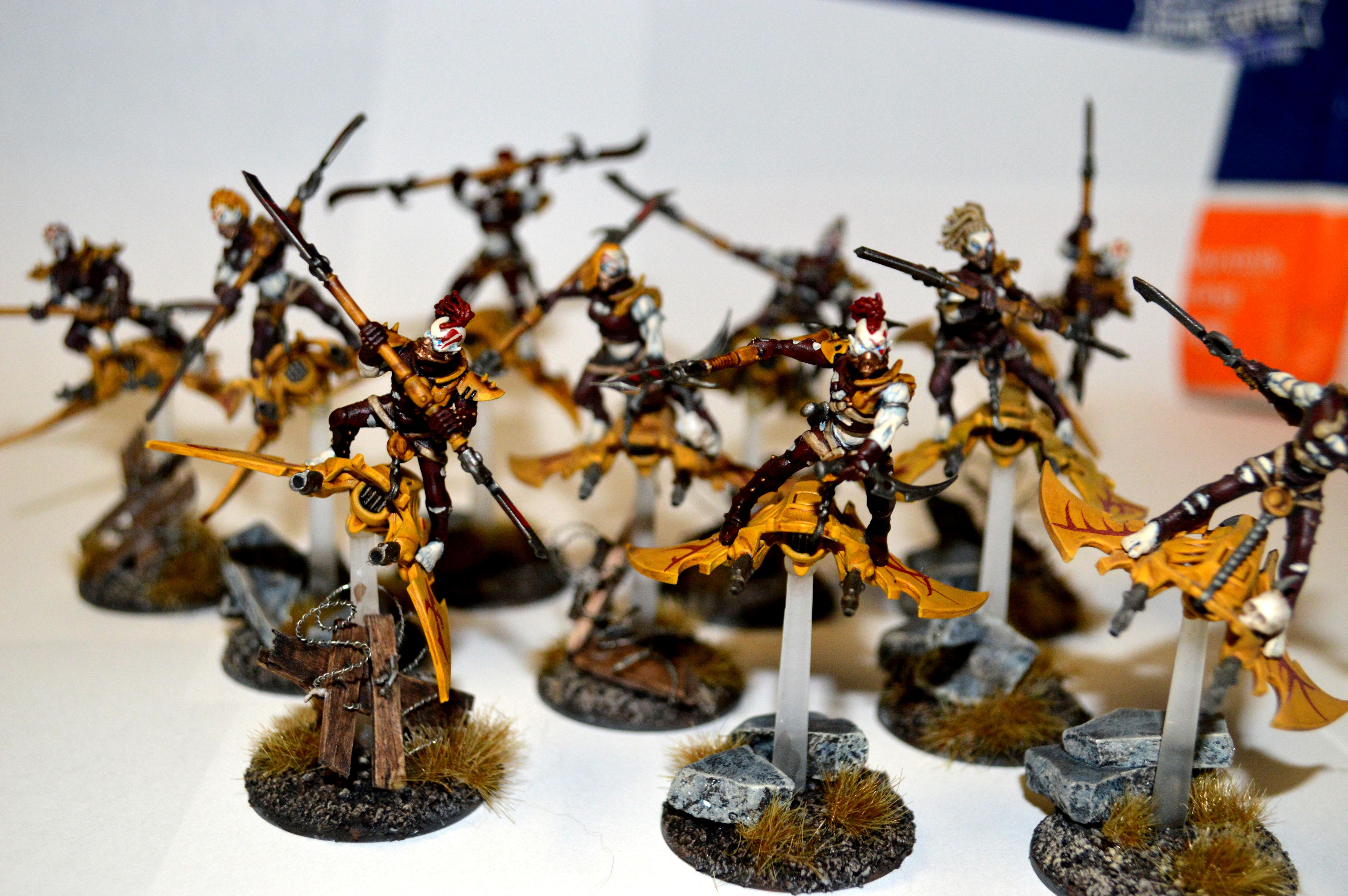 Dark Eldar, De, Hellions, Orange, Warhammer 40,000