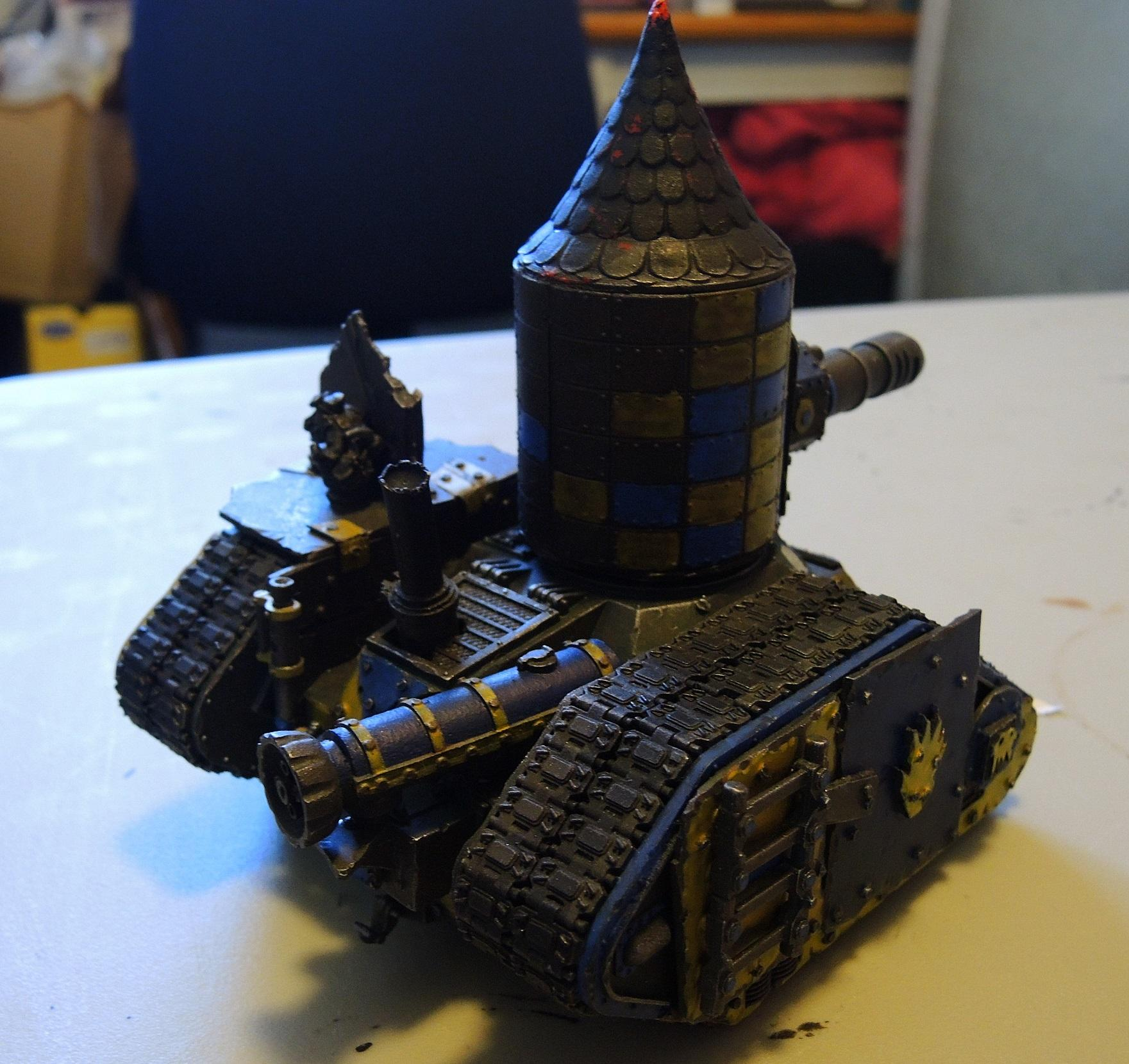 Badmoons, Deathskulls, Looted, Orks, Scratch Build, Wagon