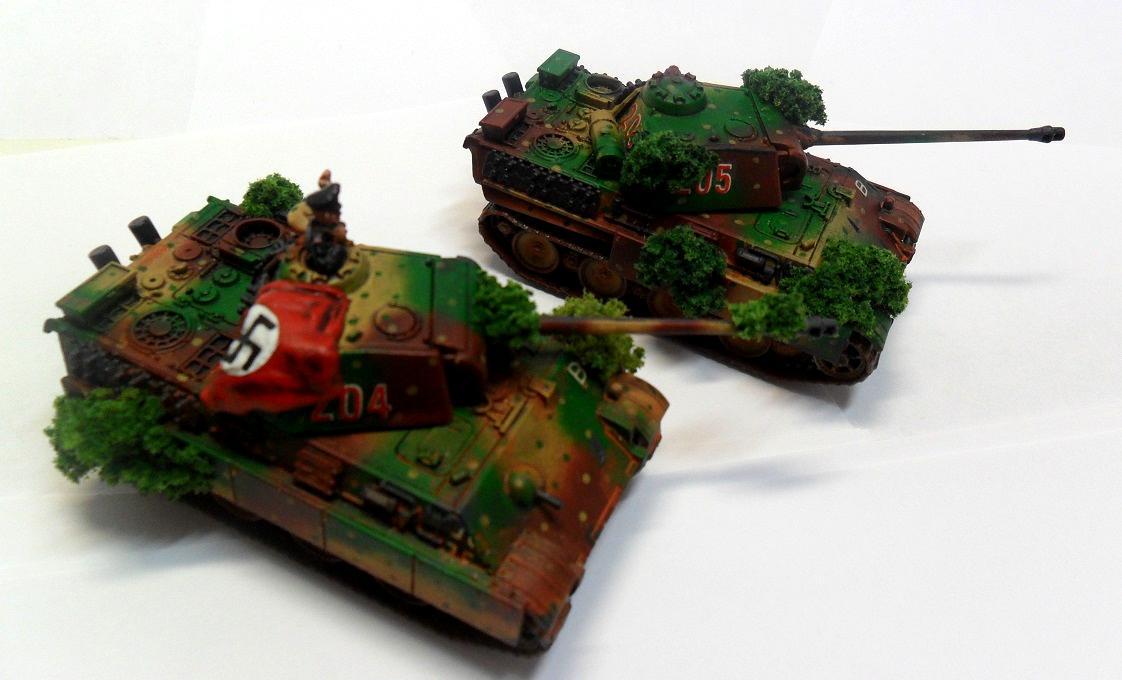 Flames Of War, Germans