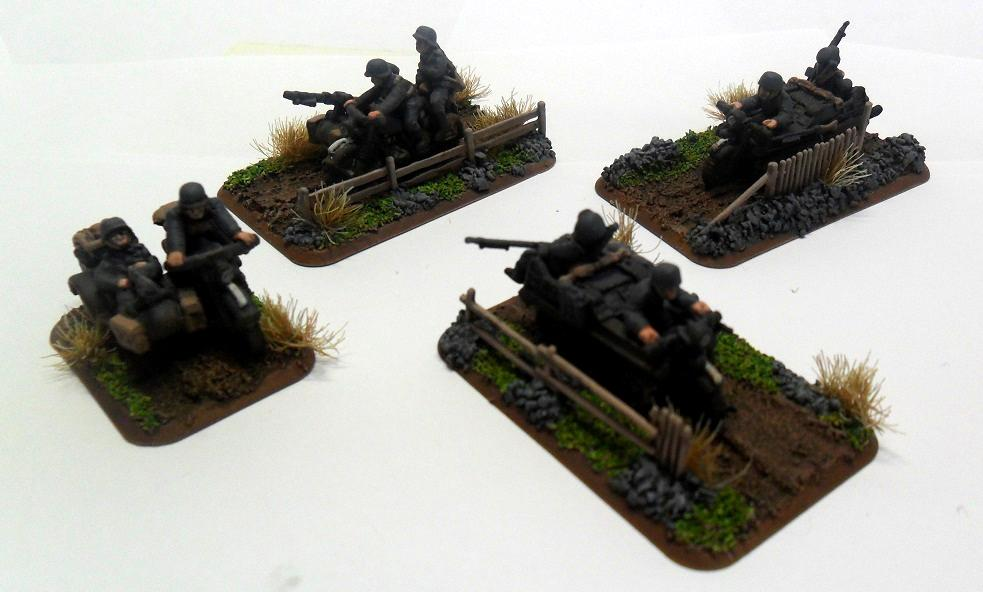 Flames Of War, Germans