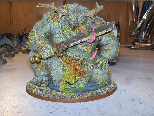 Chaos, Daemons, Forge World, Great Unclean One, Guo, Nurgle