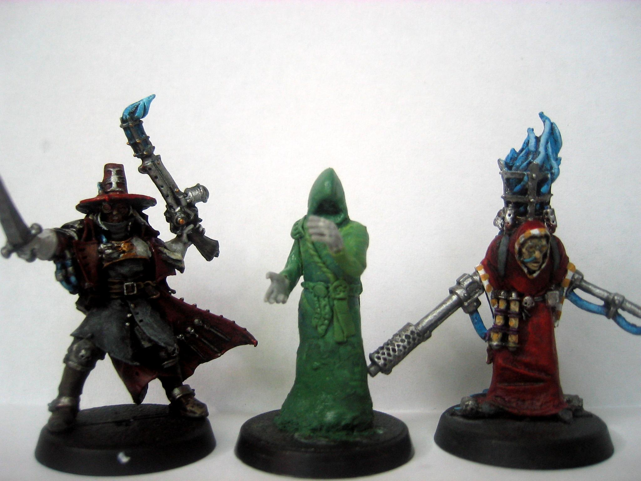 Acolytes, Greenstuff, Hooded, Inq28, Inquisitor, Witch Hunters, Work In Progress