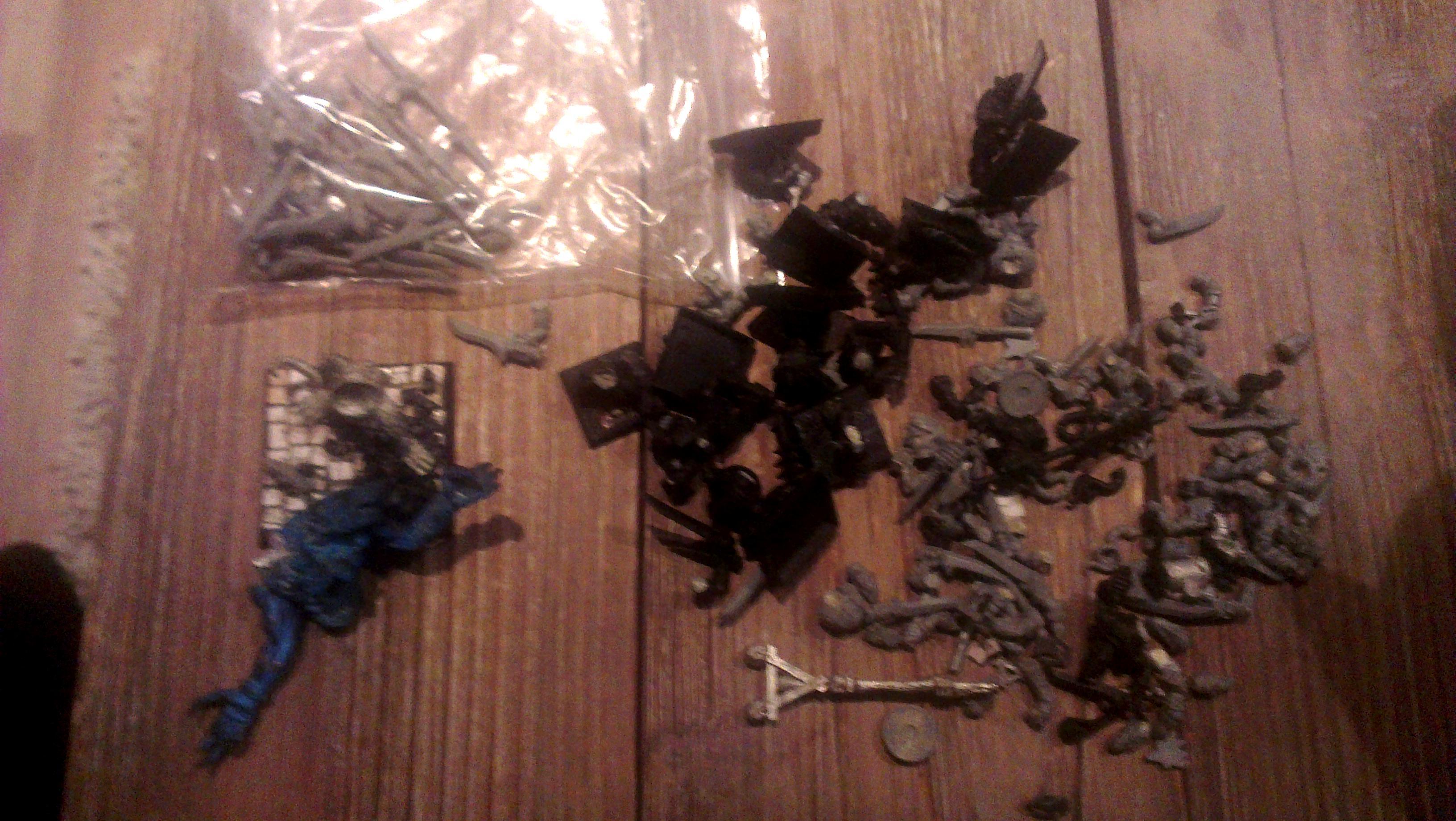 Rat ogre/bits and clanrats