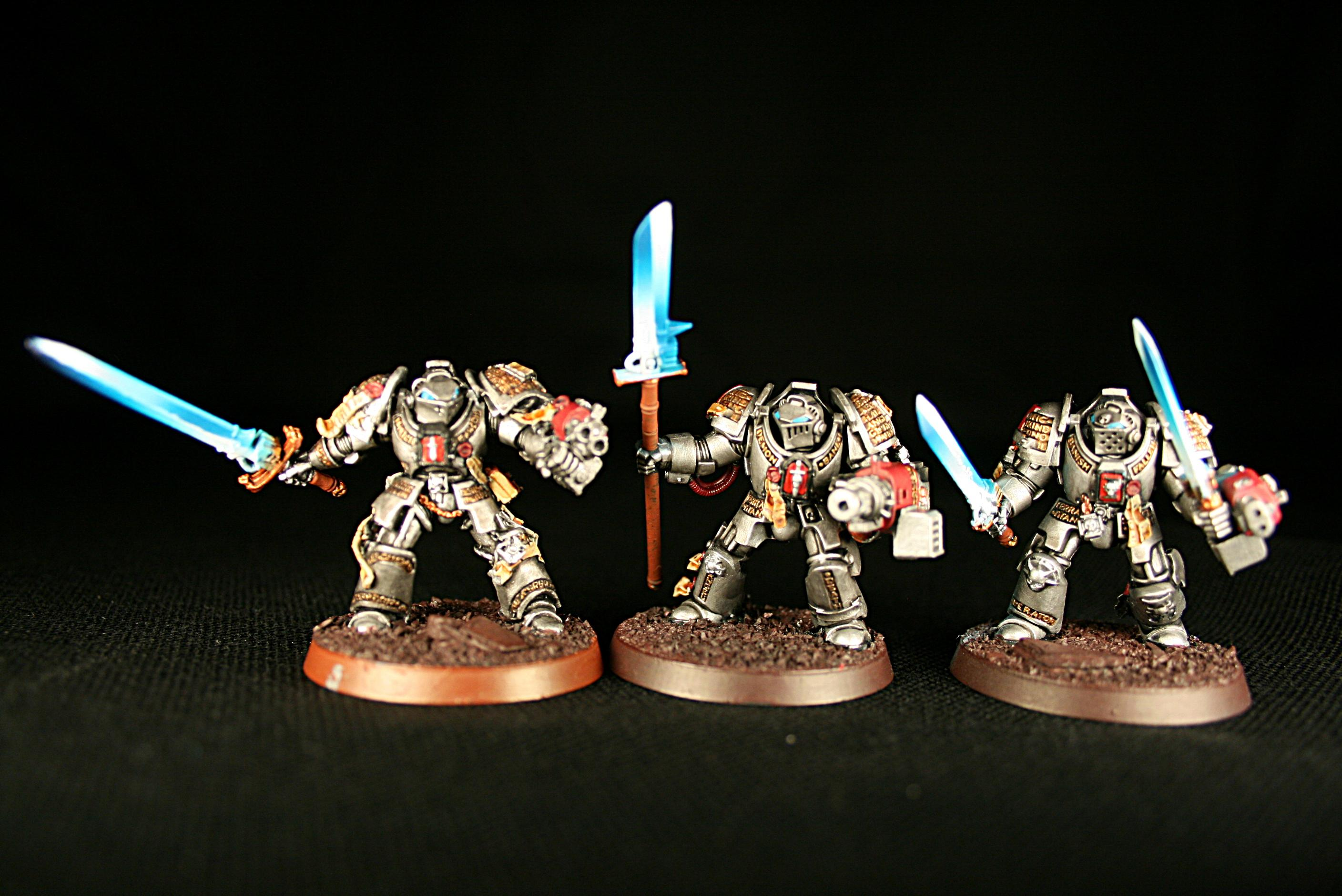 Force Weapons, Grey Knight Terminators, Grey Knights, Terminator Armor