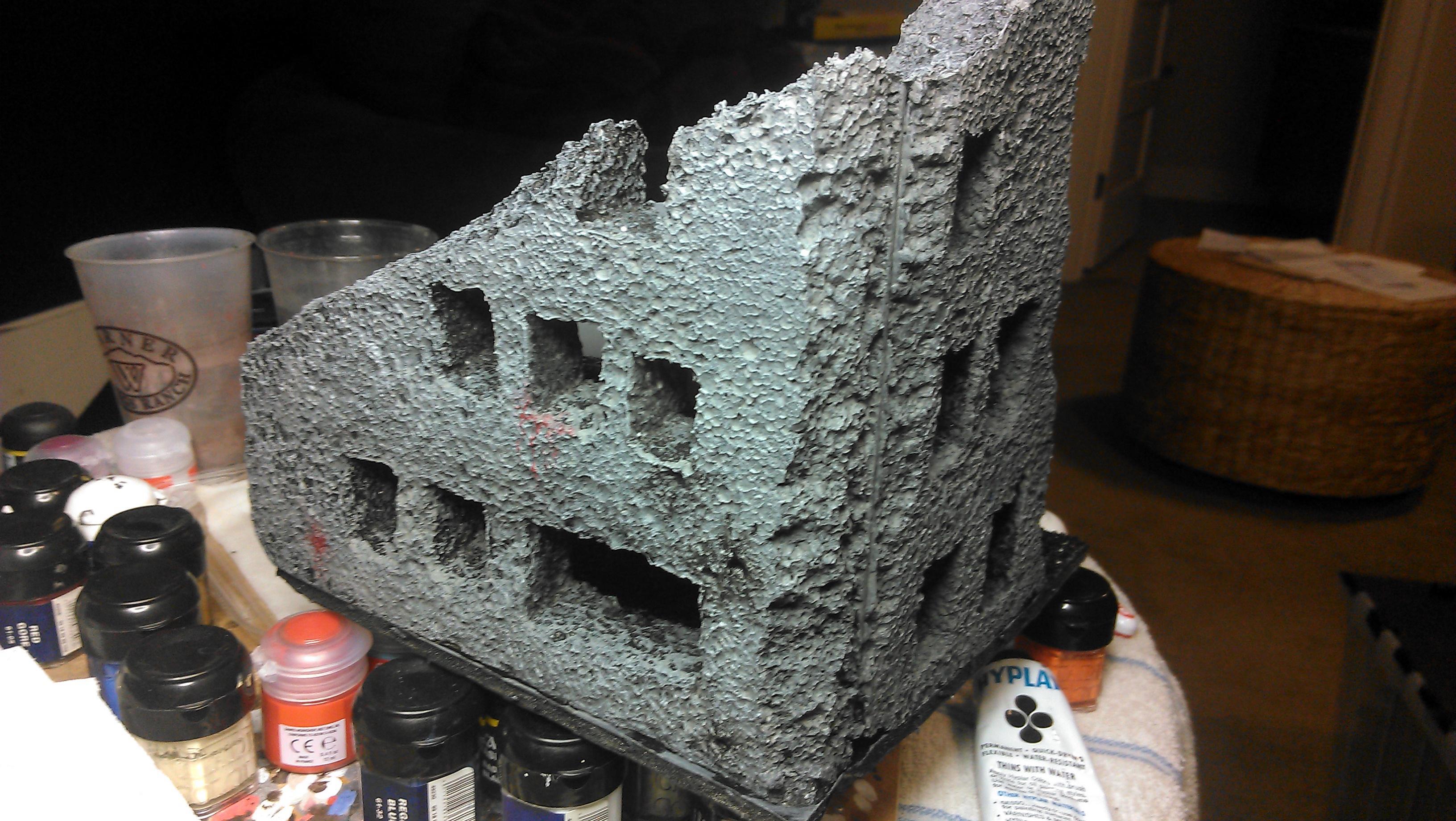 Ruin, Scratch Build, Sytrofoam, Terrain