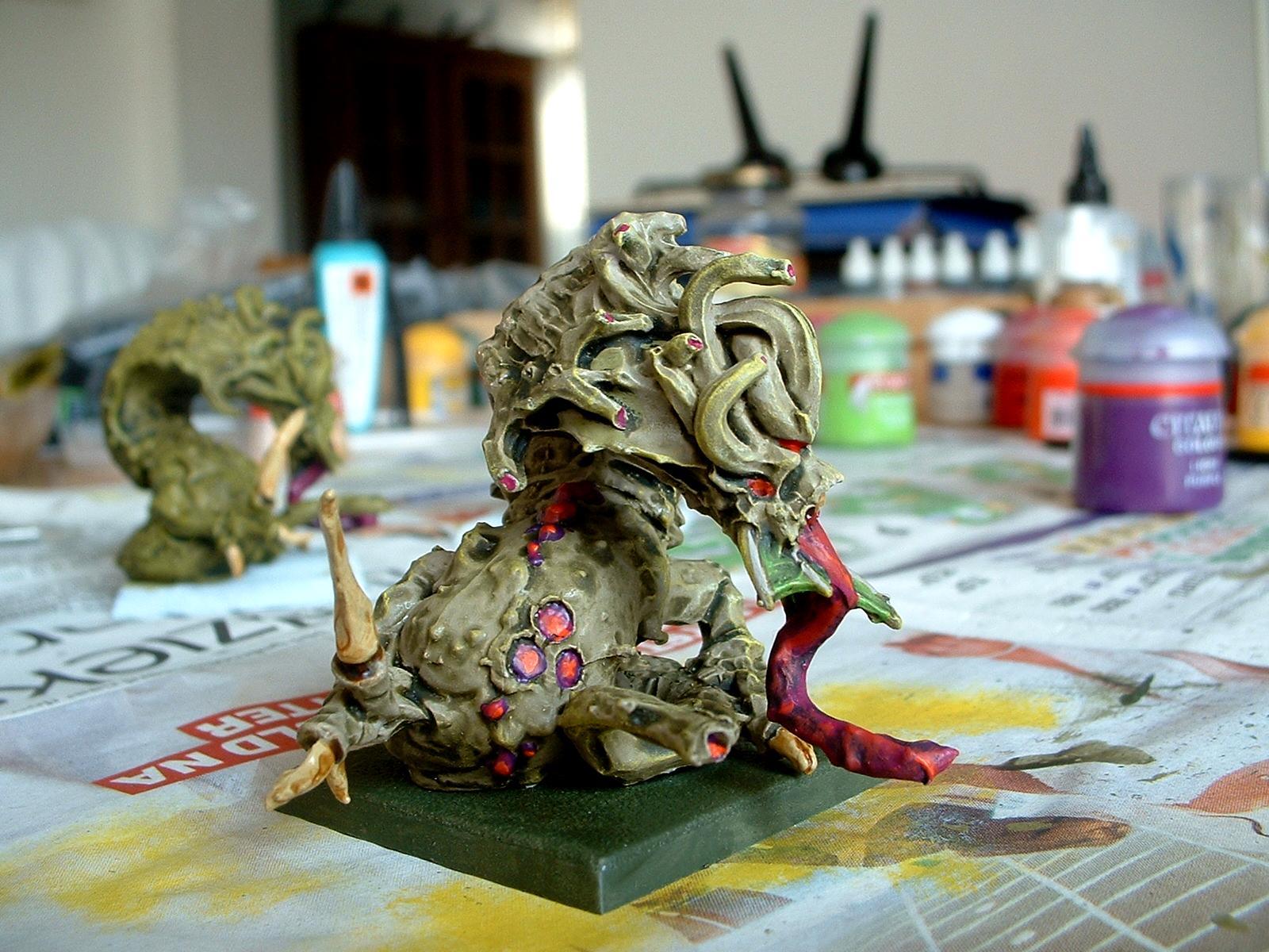 Beasts Of Nurgle, Chaos, Daemons, Nurgle, Work In Progress