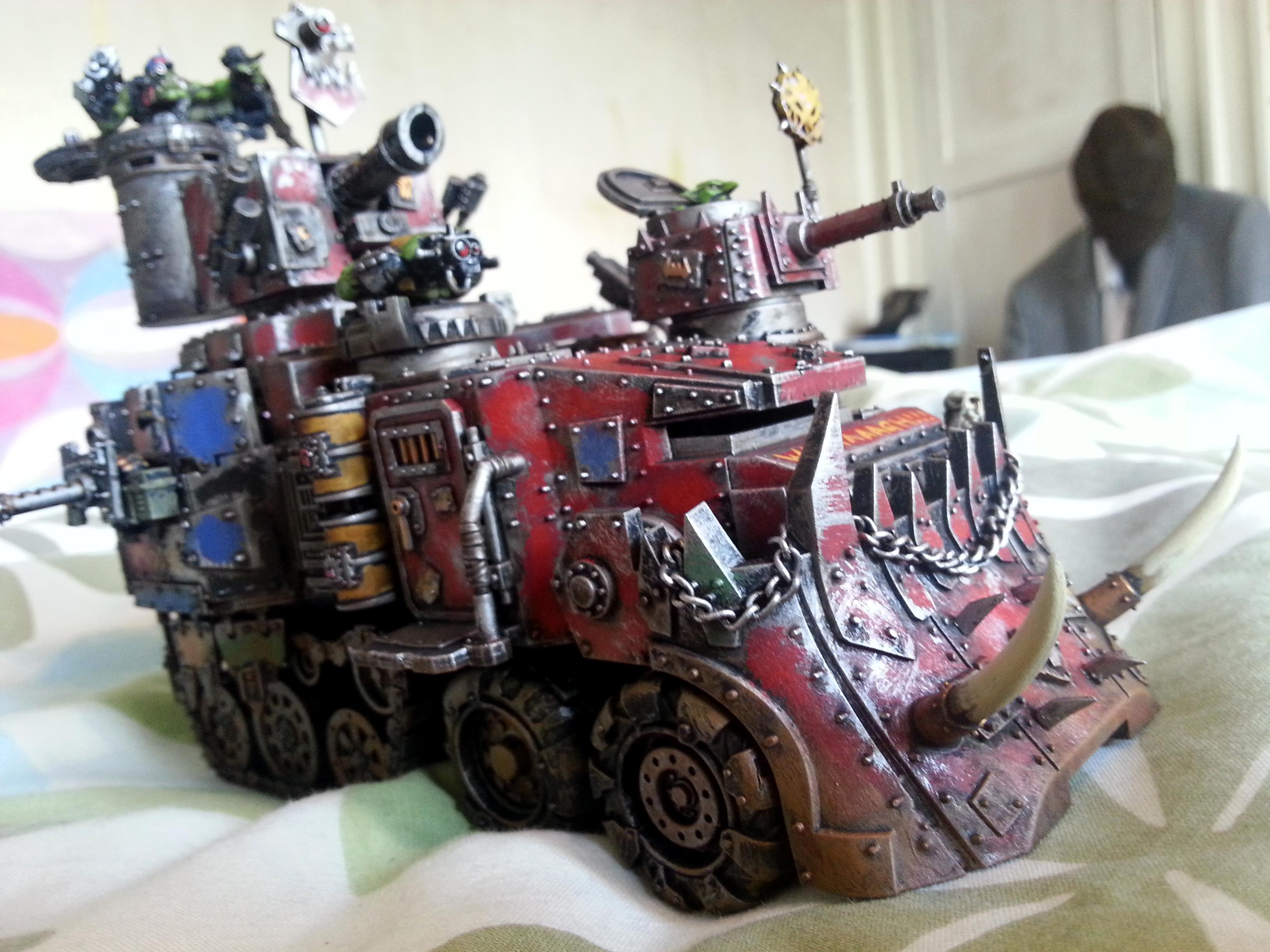 Battlewagon, Conversion, Dreadknight, Freebooter, Killa Kan, Lootaz, Old, Old Zogwort, Orks, Warbike, Warboss, Wierdboy, Zogwort