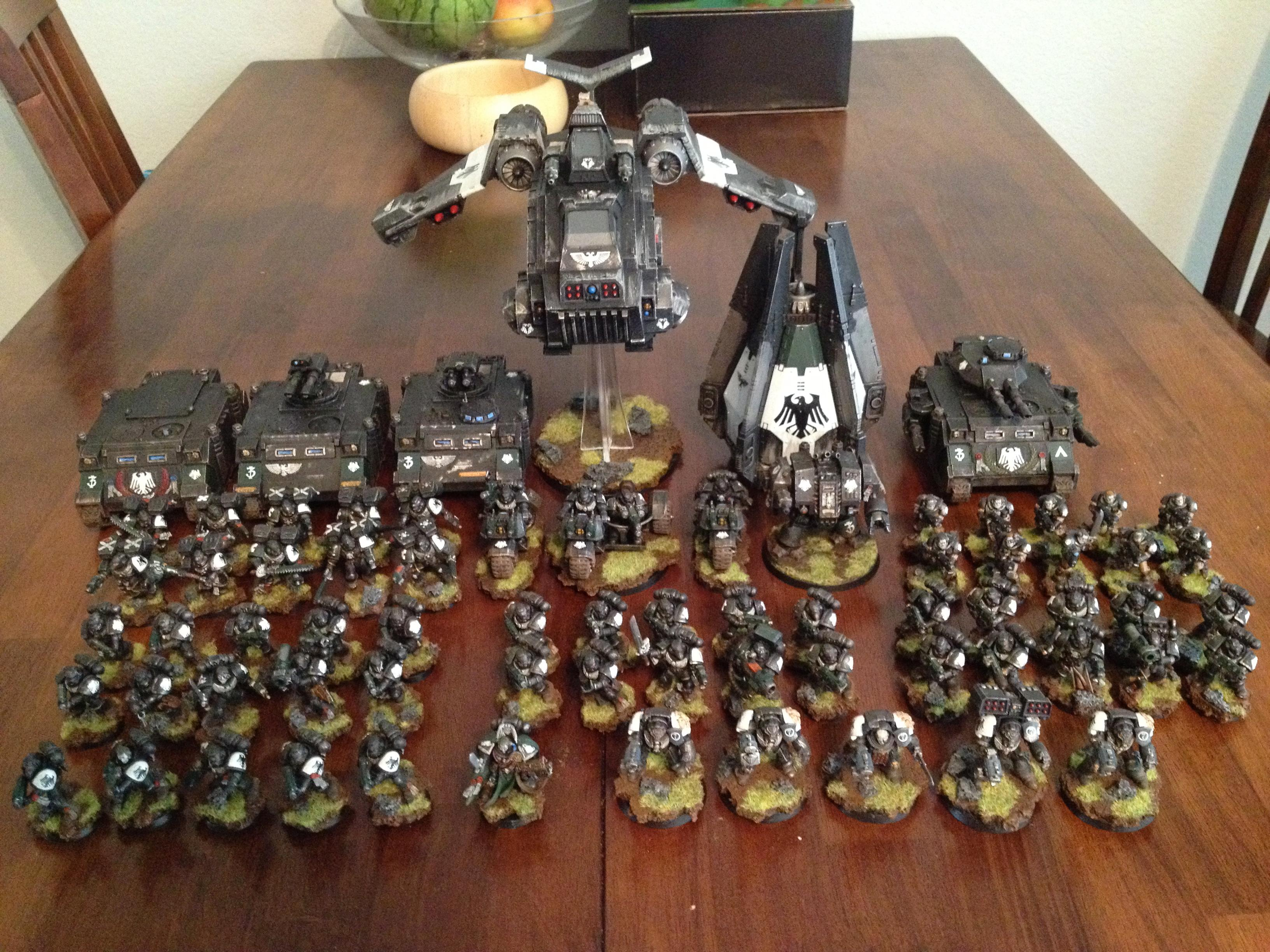Company, Raven Guard, Space Marines