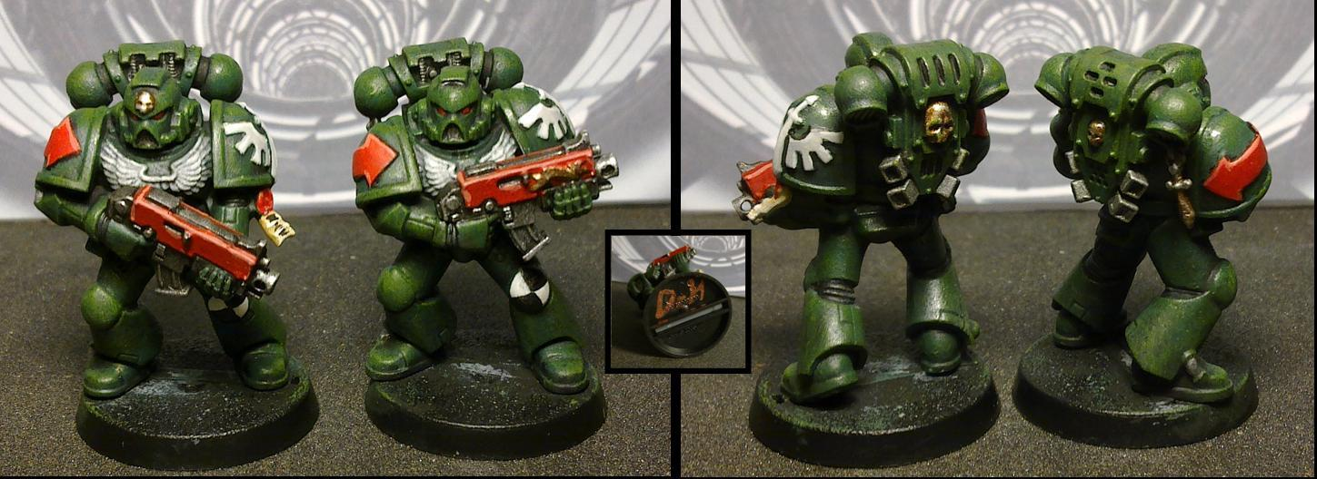 Commission, Dark Angels, Dark Vengeance, Tactical Squad, Warhammer 40,000
