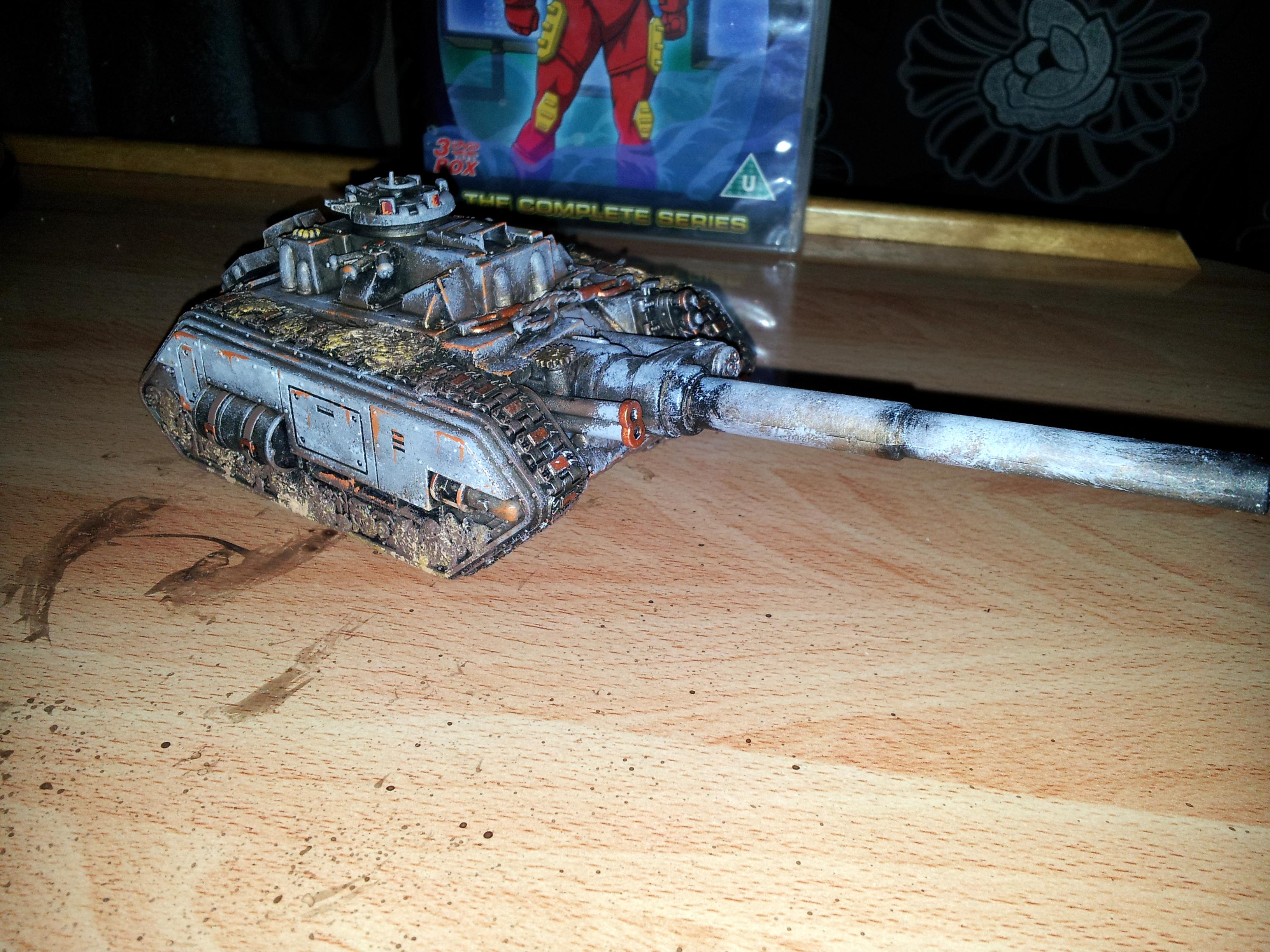 Chaos Space Marines, Conversion, Cool, Tank