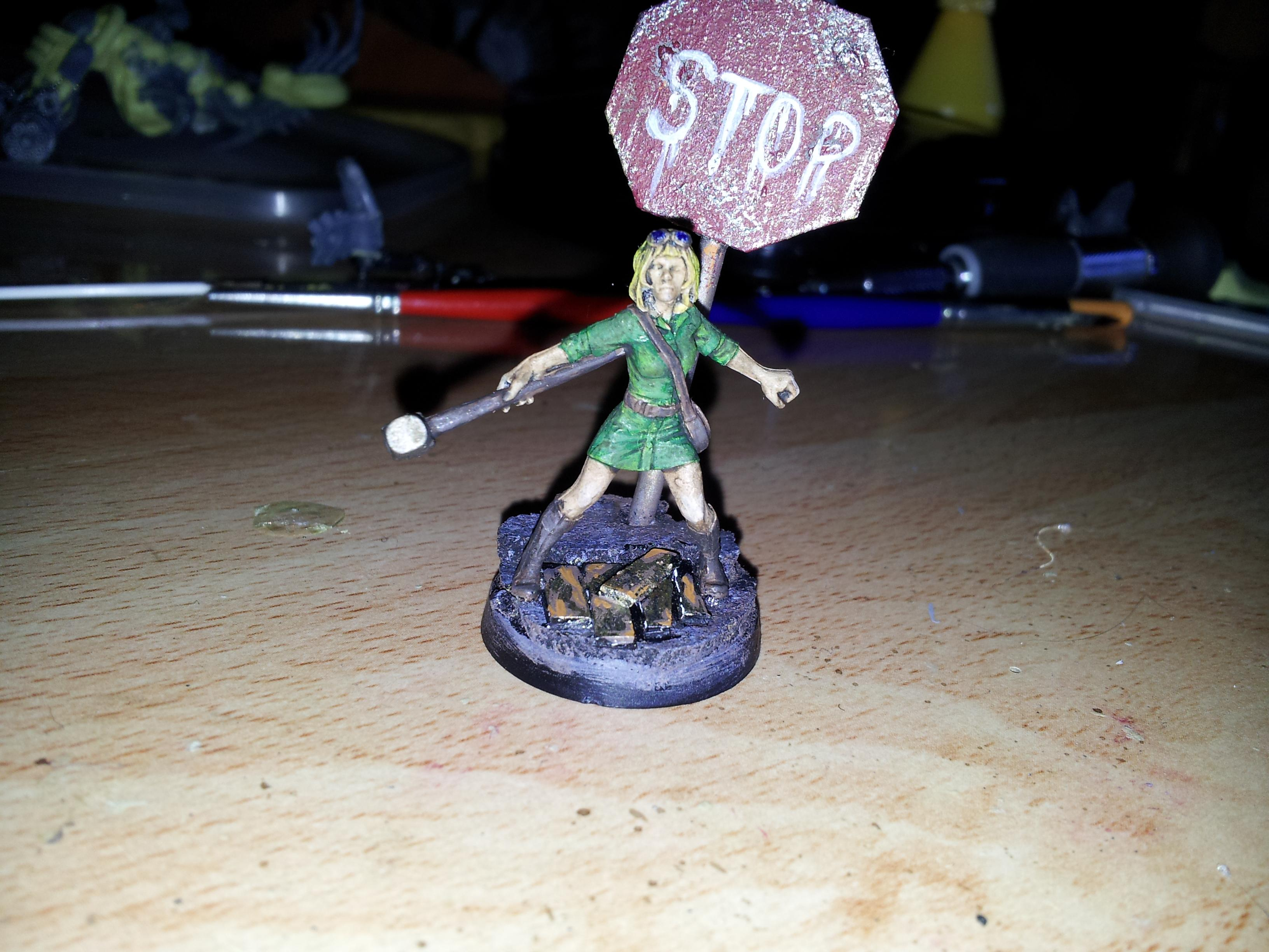 Conversion, Woman, wasteland survivor