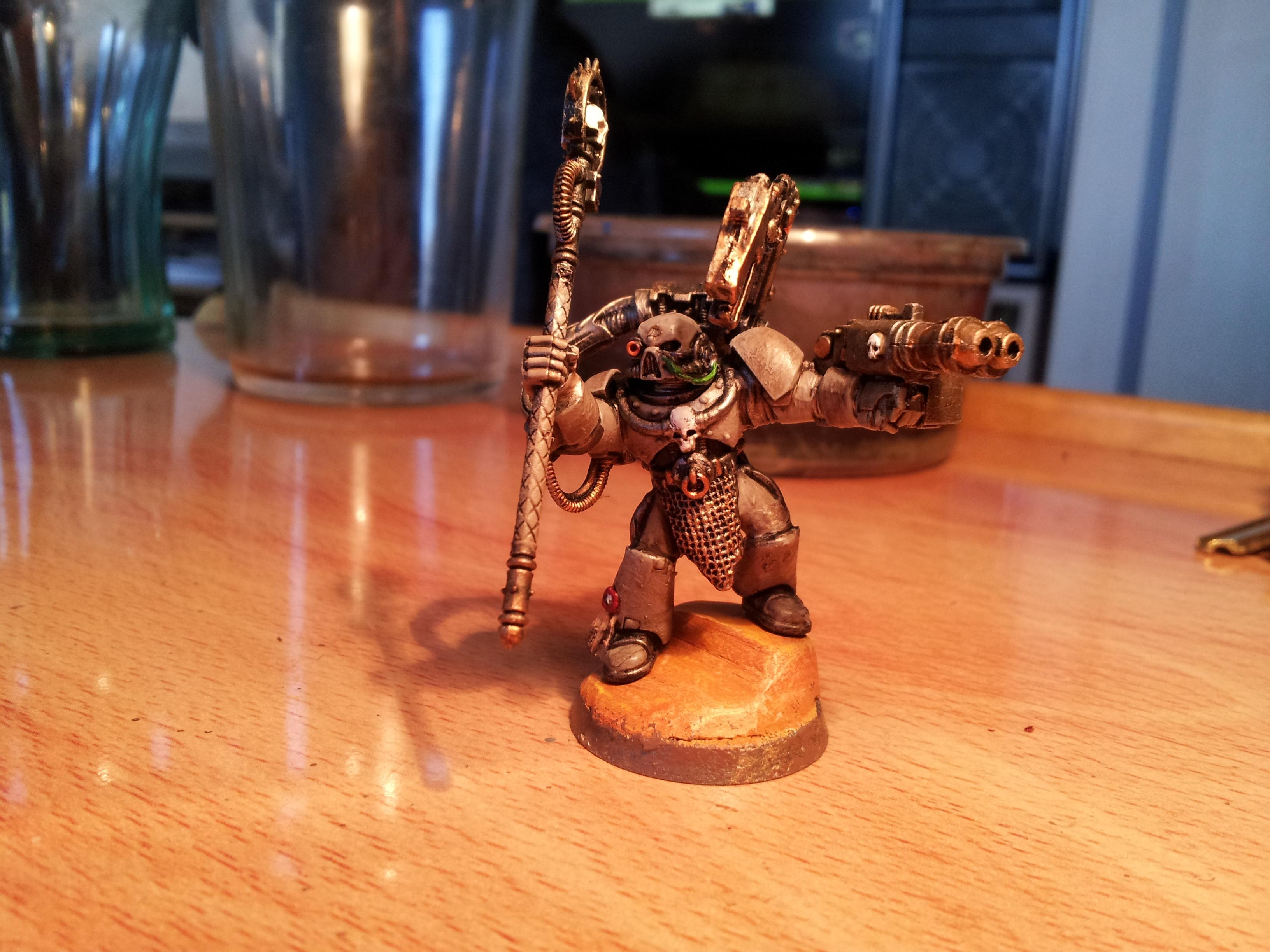 Chaos Space Marines, Conversion, Sorcerer