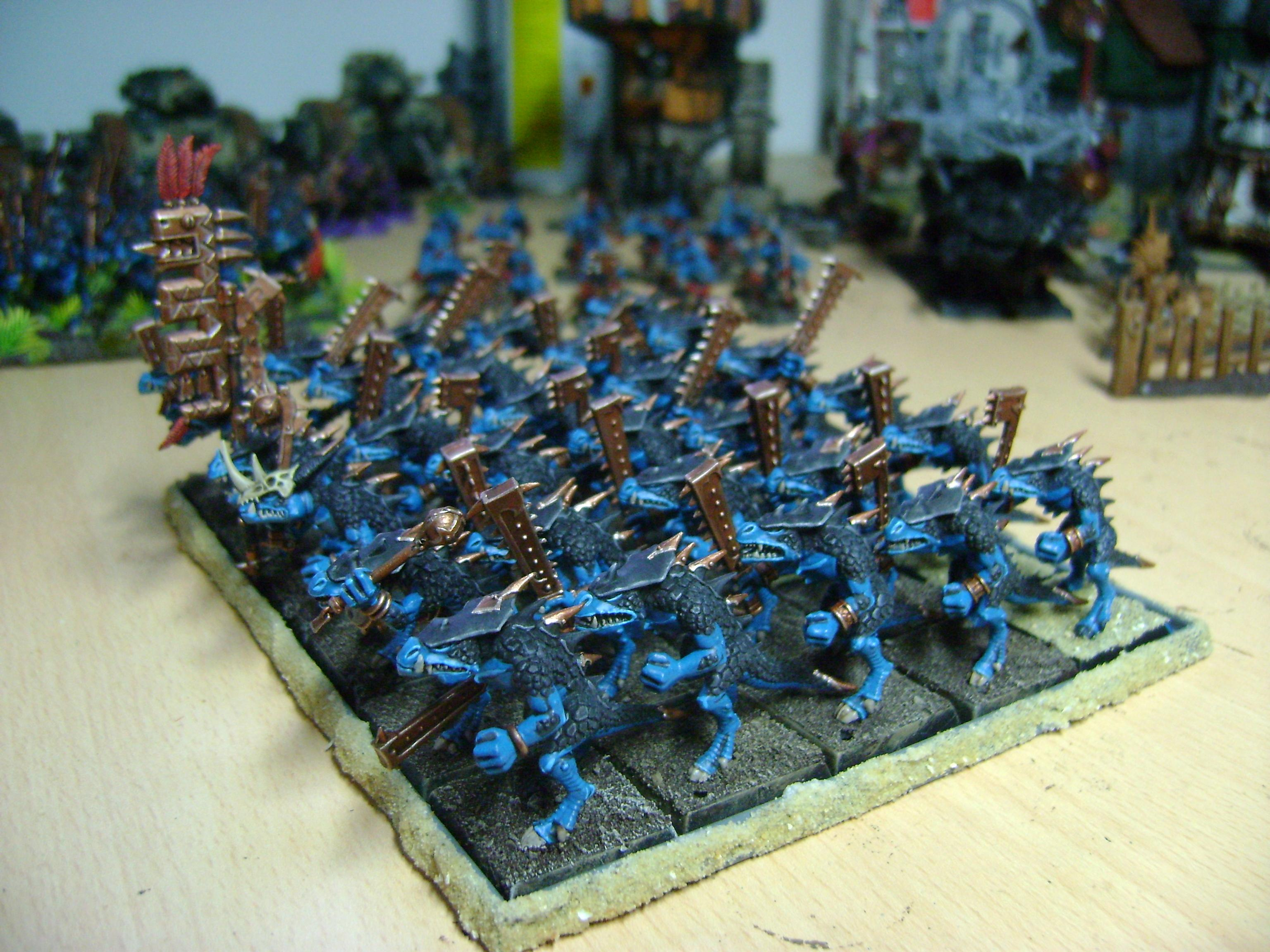 Lizardmen, Sarus Warriors, Saurus Warriors