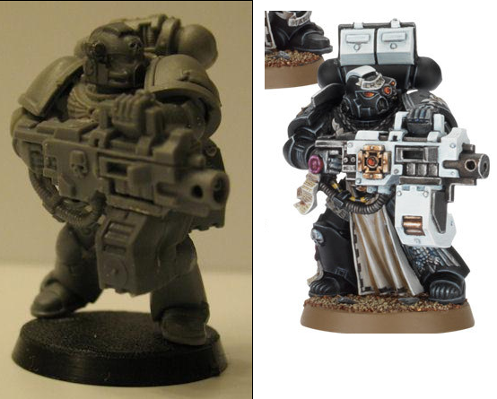 Conversion, Heavy Bolter, Space Marines, Sternguard