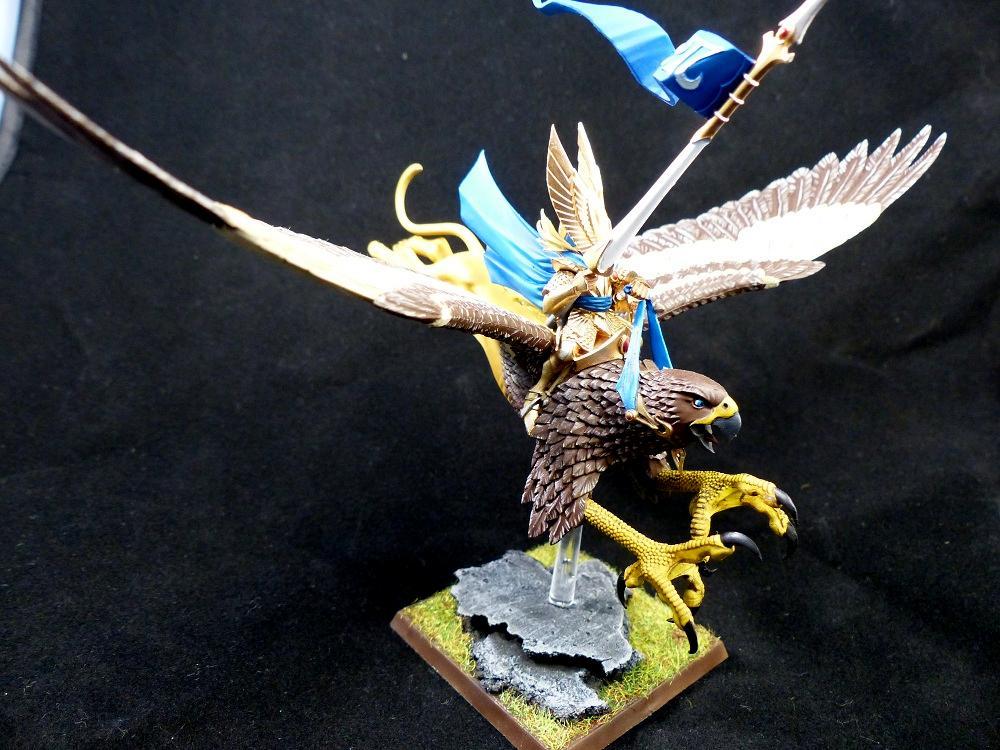 High Elf Prince on Griffon