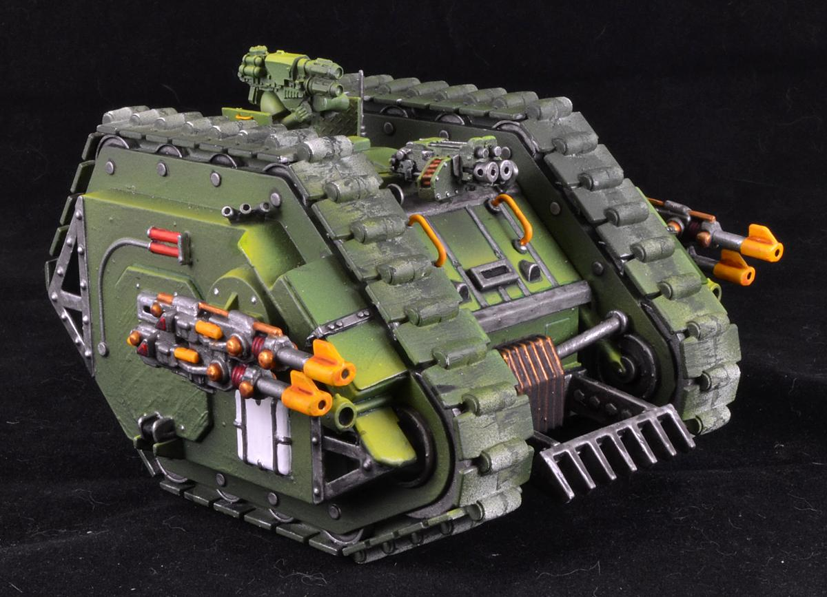 Land Raider, Mk-1, Space Marines, Warhammer 40,000, Work In Progress