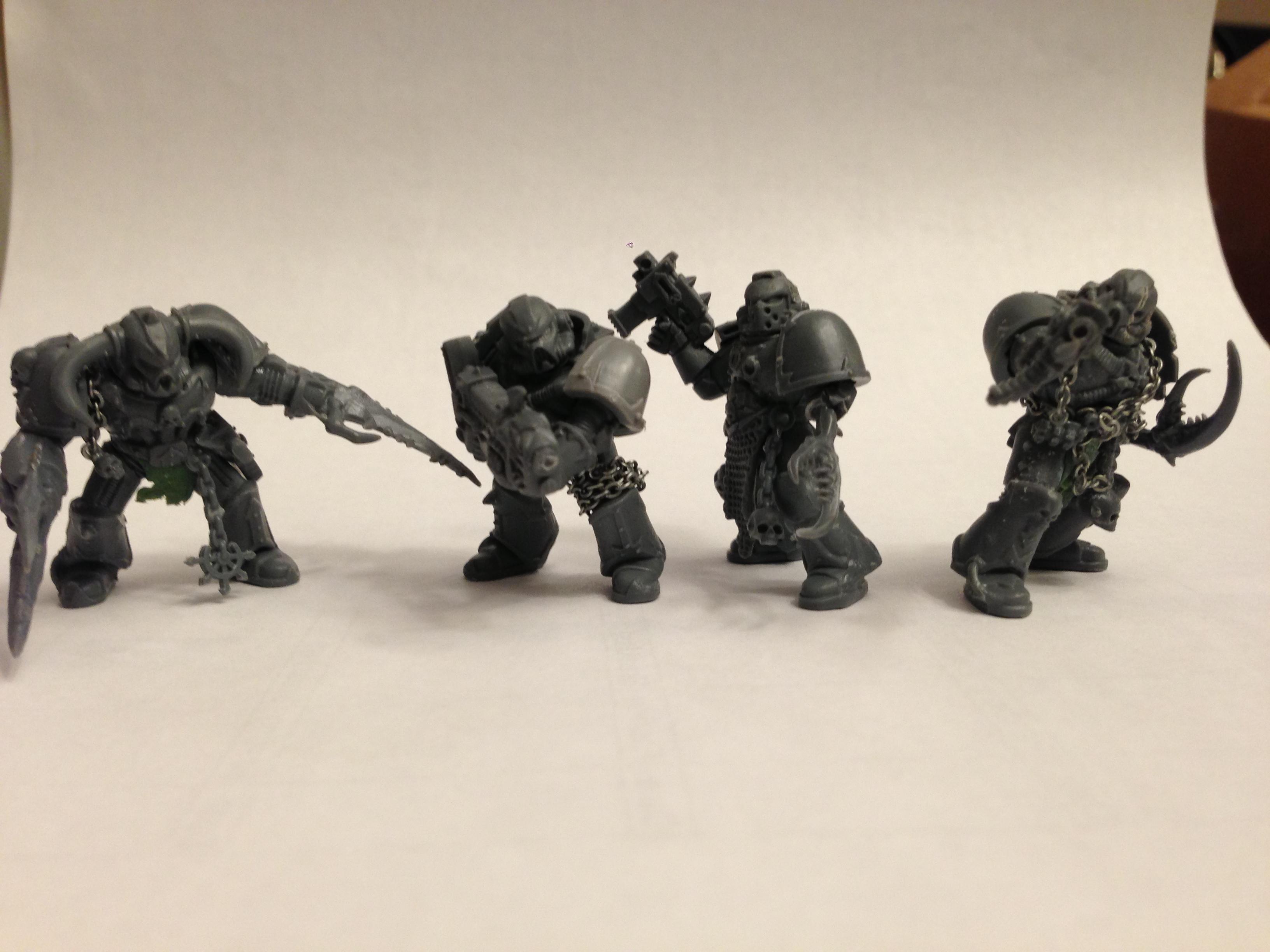 Chaos Space Marines, CSM Squad