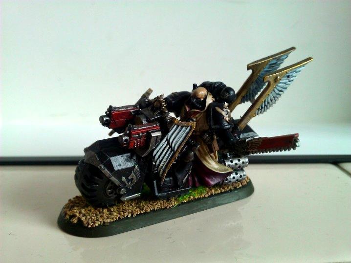 Dark Angels Ravenwing Sergeant