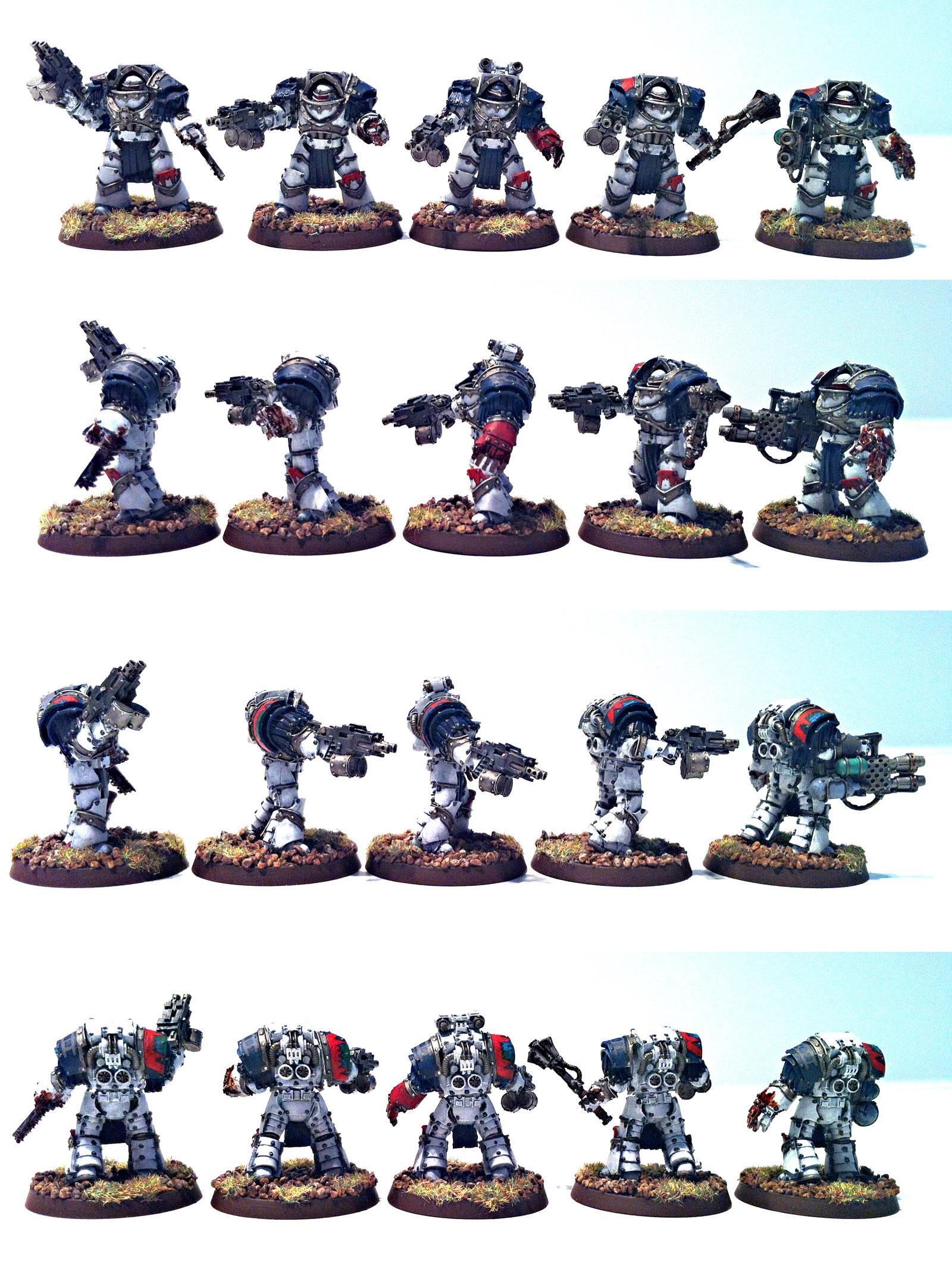 Cataphractii, Terminator Armor, World Eaters