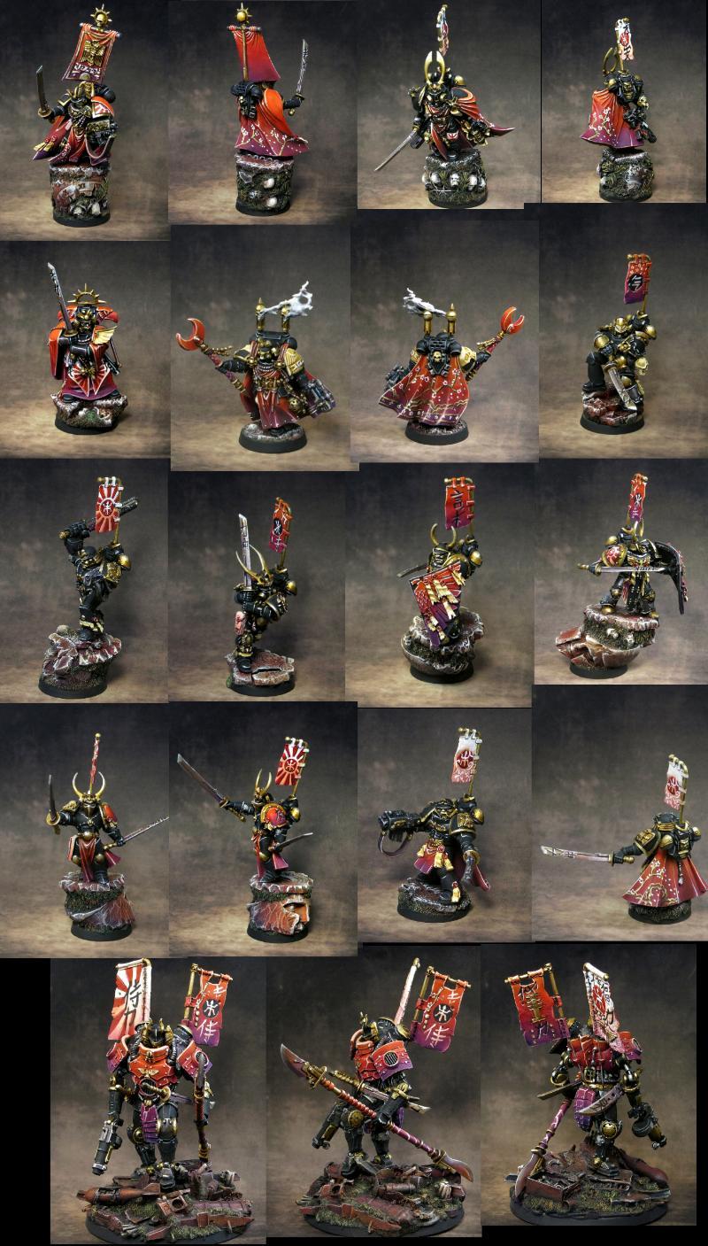 Games Workshop, Samurai. Games Workshop, Space Marines, Violet