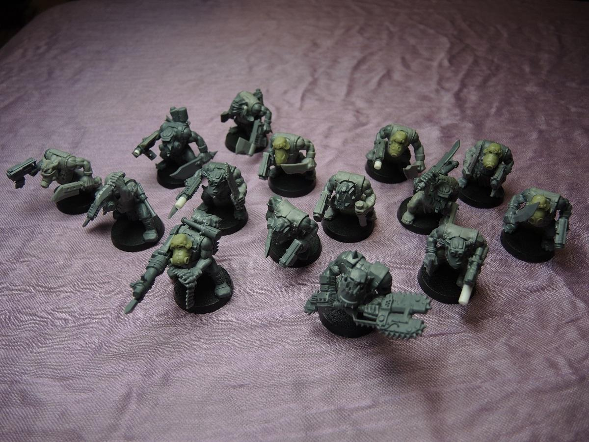 Bad Moons, Deathskulls, Deff, Deff Dread, Dreadnought, Dred, Kommandos, Orks, Scratch Build