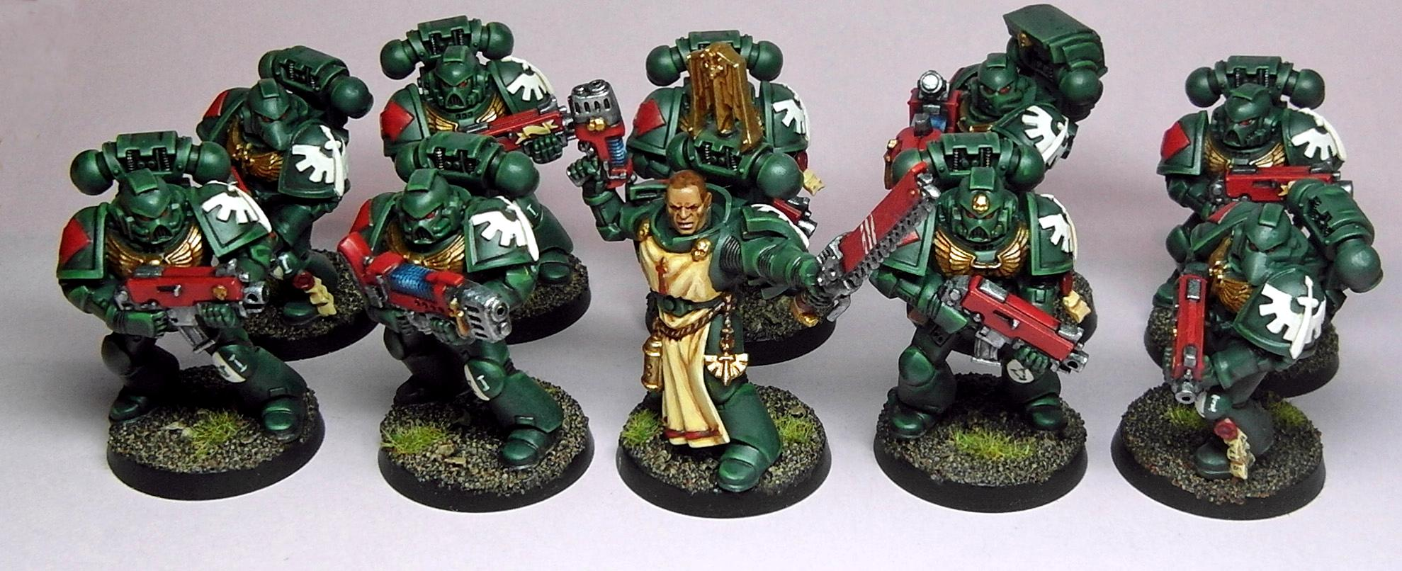 Dark Angels, Space Marines, Tactical Squad